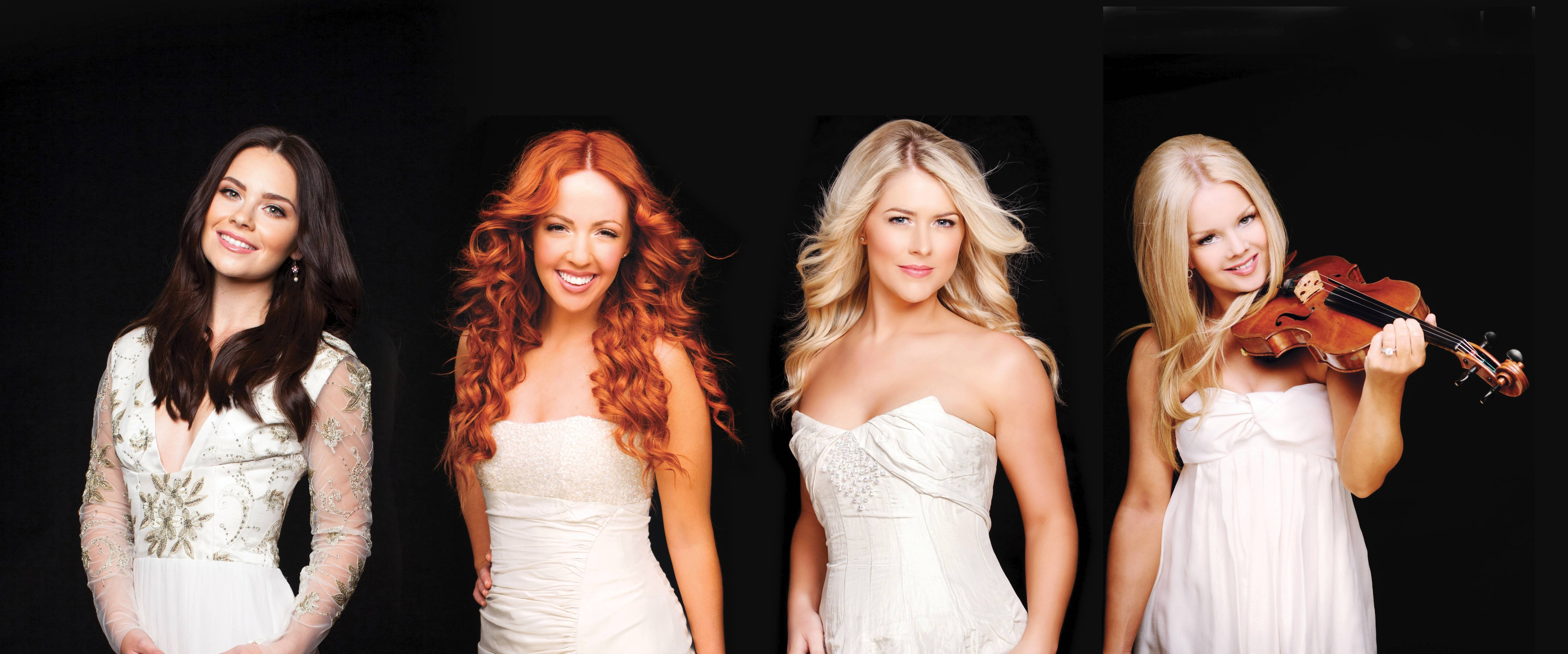 Celtic Woman -- featuring Mairead Carlin, left, Lisa Lambe, Susan McFadden and Mairead Nesbitt -- performs Sunday at the Chicago Theatre.