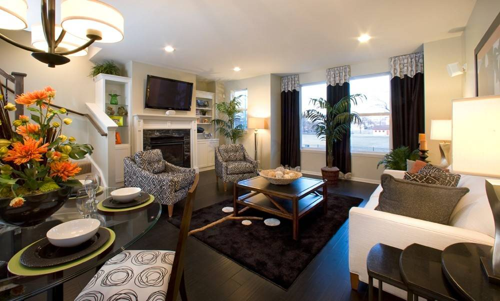 The Buckingham Model At Lexington Square In Bridgeport Transports You Into  A World Of Black,
