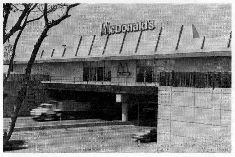 McDonald's took over operation of the oasis restaurant in 1984.
