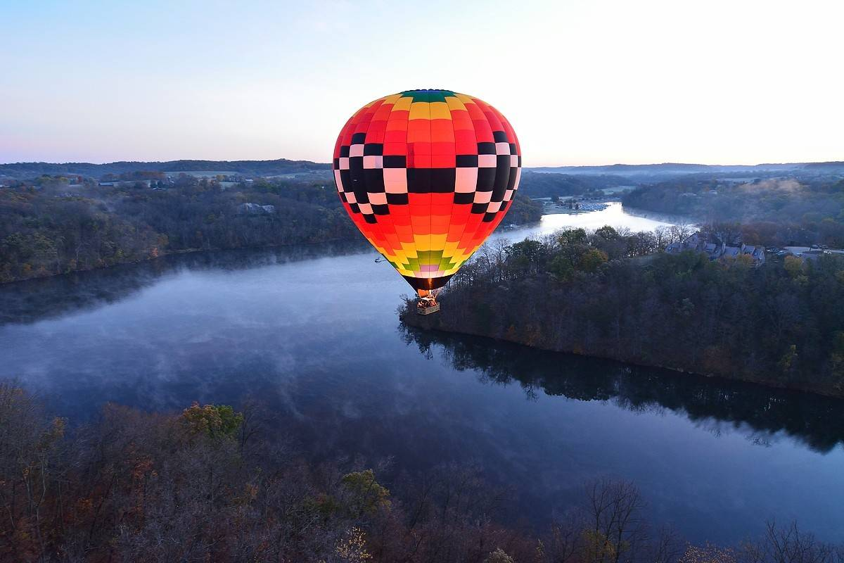 Depending on the weather, spring break fun at Eagle Ridge in Galena can include hot air ballooning, snowshoeing, swimming and more.