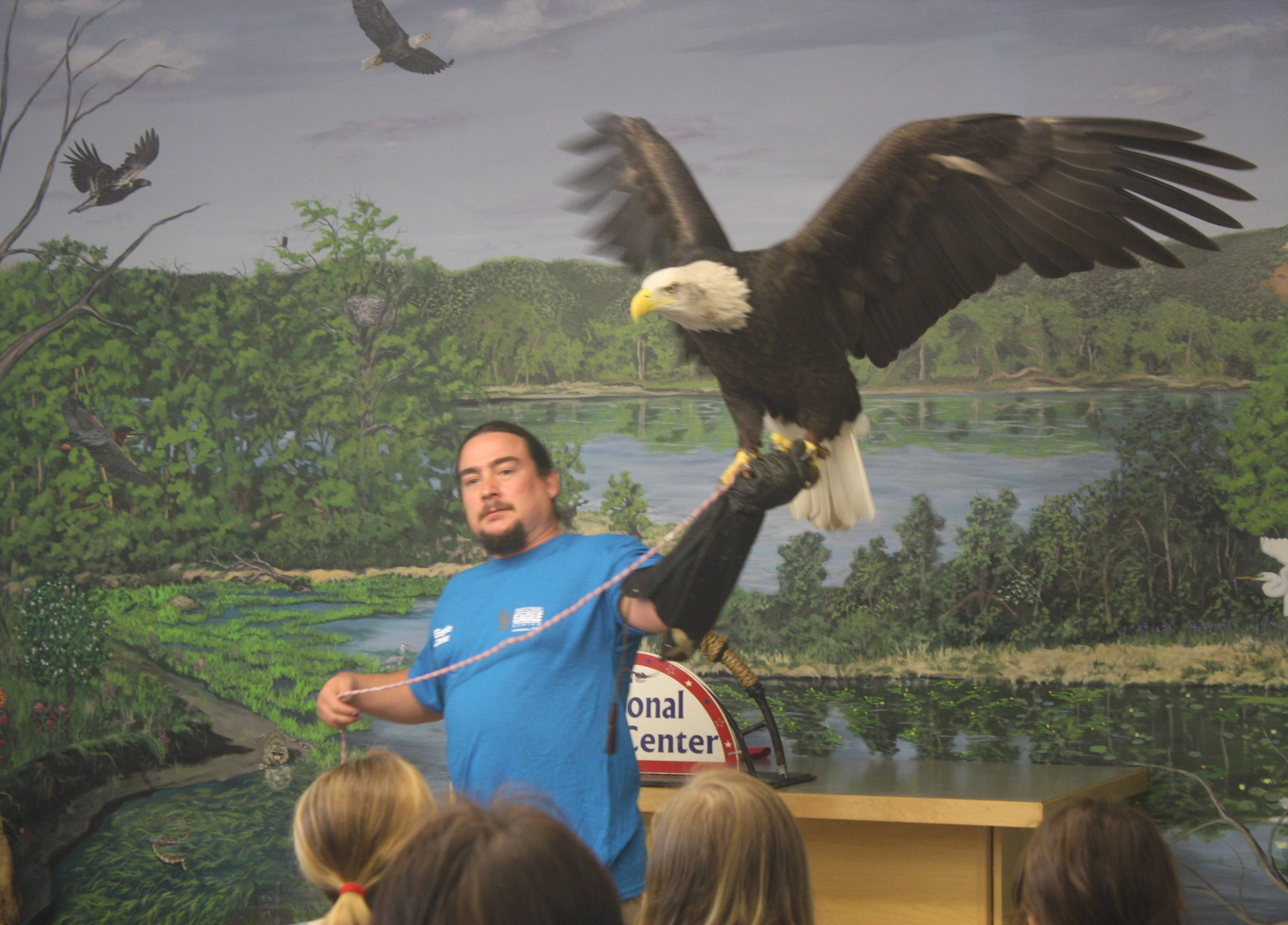Soar with the Eagles takes place Saturday and Sunday, March 22-23, at the National Eagle Center in Minnesota.