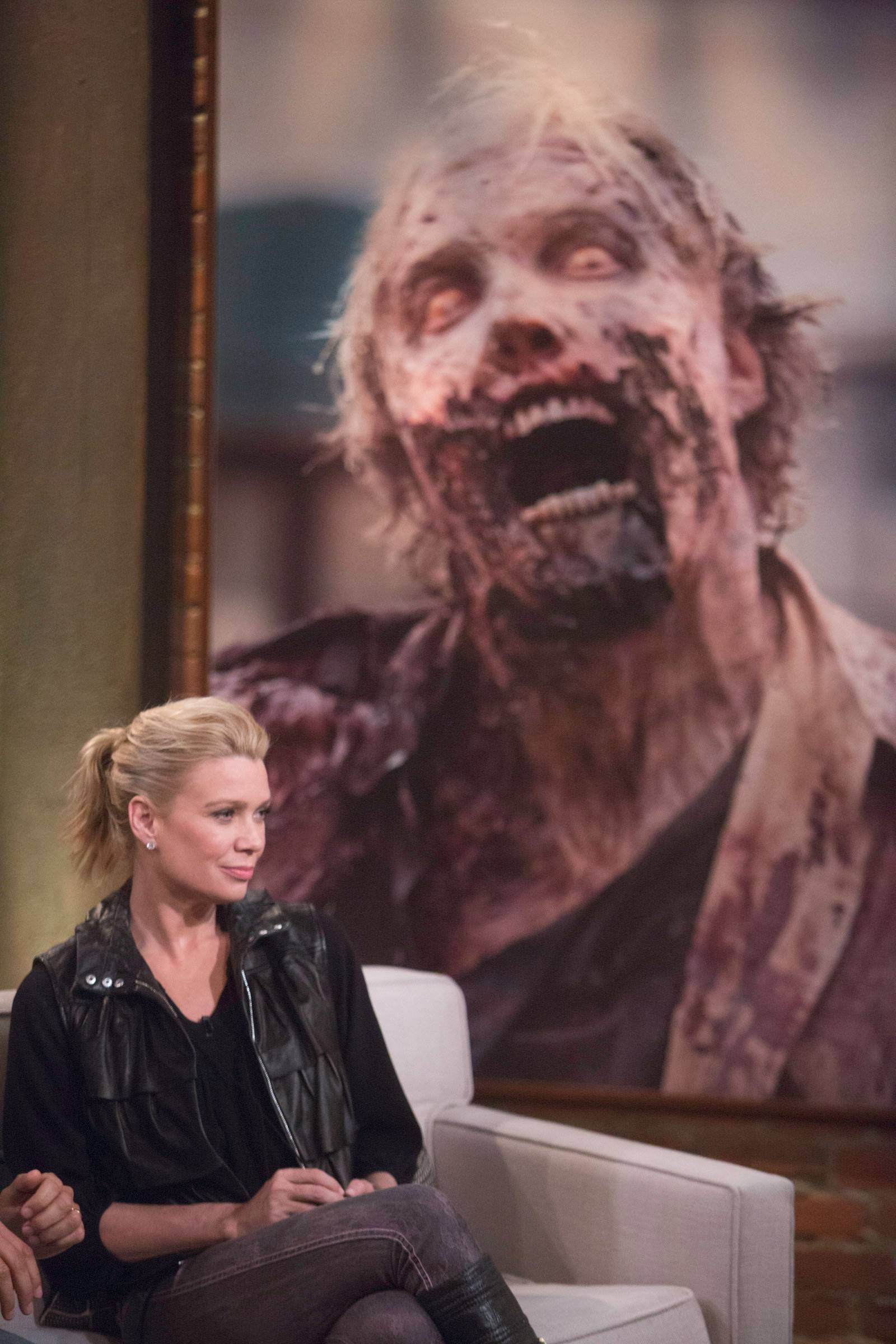 "Courtesy of Jordin Althaus/AMC  Laurie Holden (""The Walking Dead"") is one of the featured stars appearing at The Walker Stalker Convention 2014 at the Donald E. Stephens Convention Center in Rosemont between Friday, March 14, through Sunday, March 16."