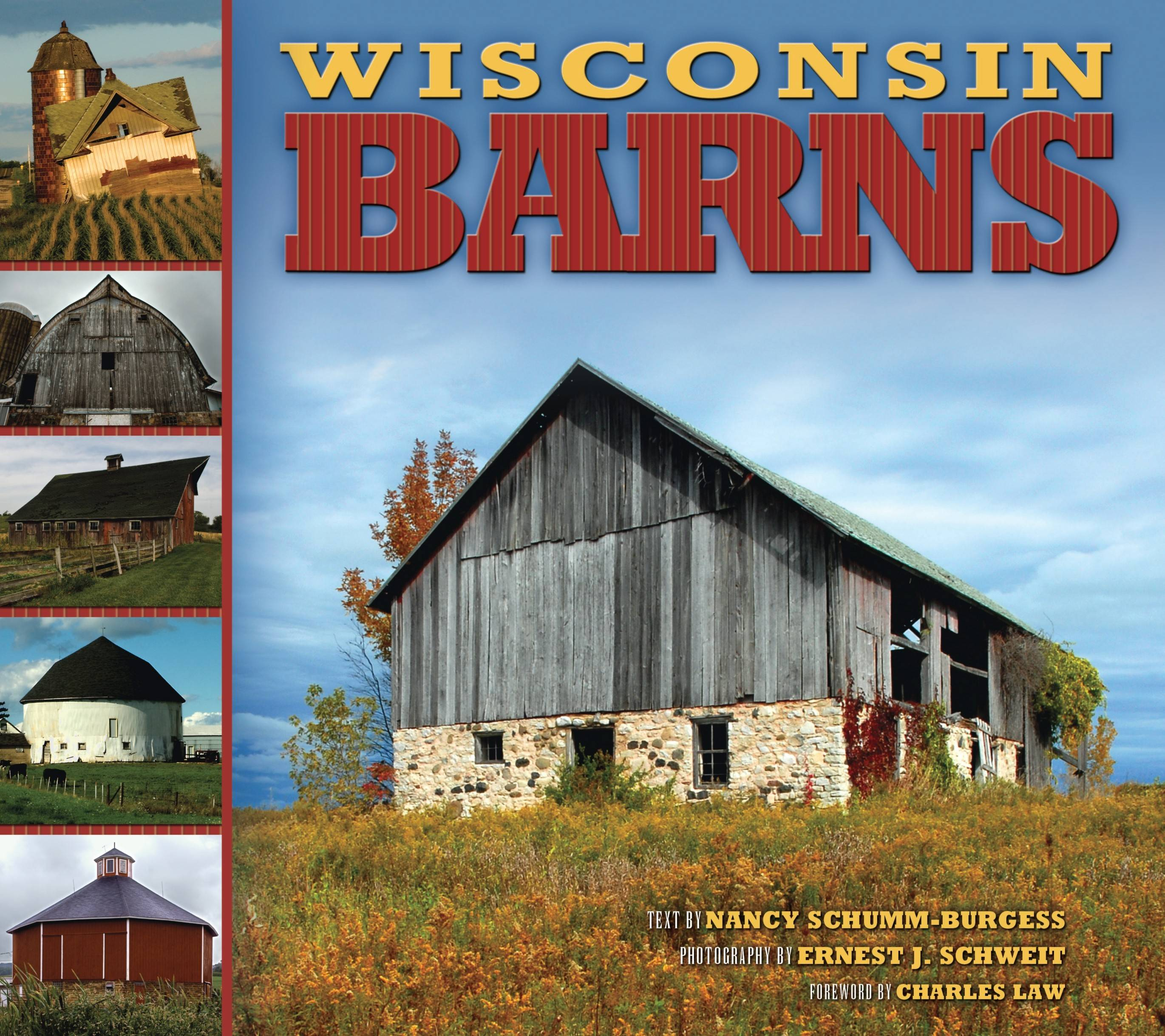 "Shweit's photographs are found in ""Wisconsin Barns"" Farcountry Press."