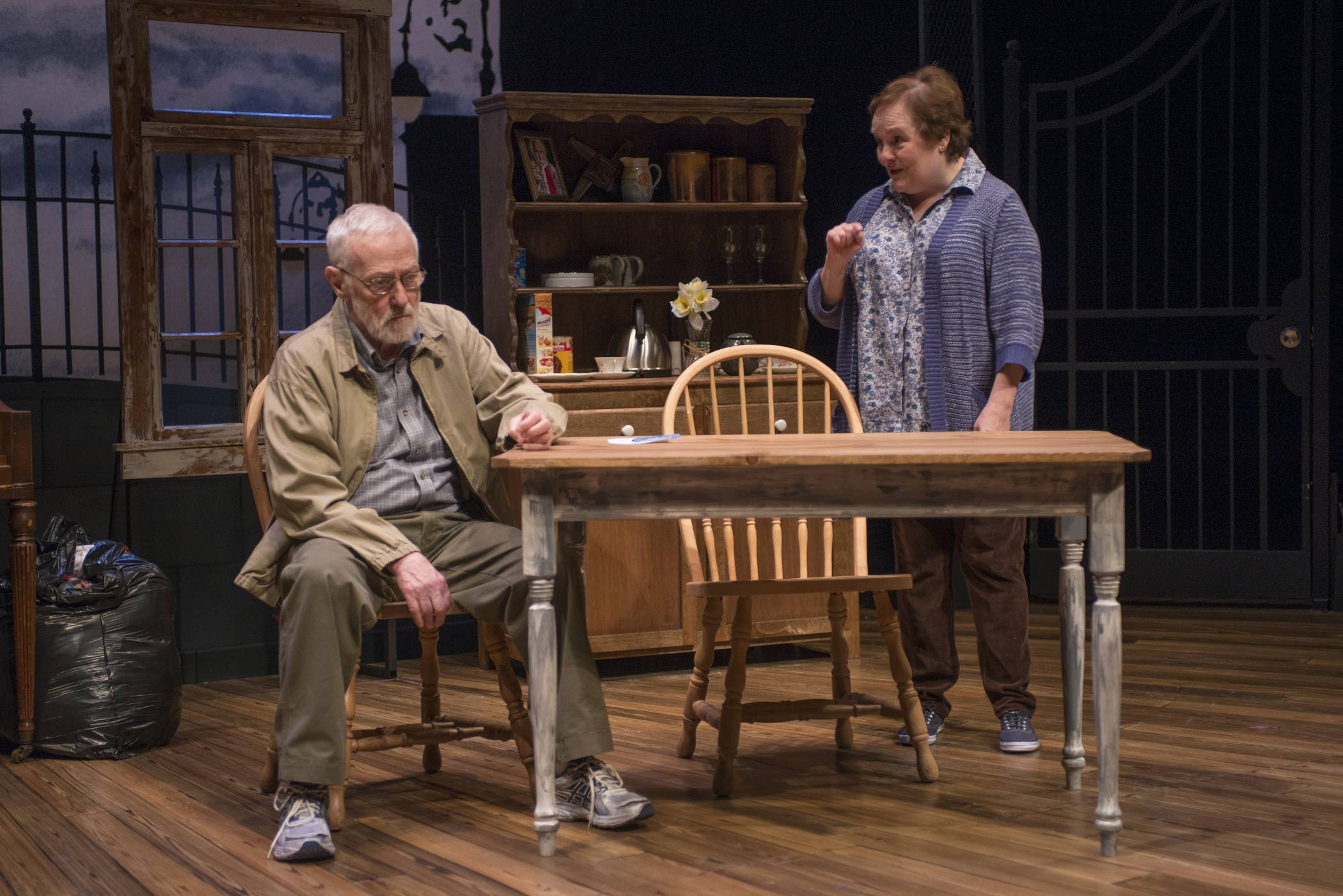 "Former ""Frasier"" star John Mahoney, 73, stars with Penny Slusher in ""Chapatti,"" by Irish playwright Christian O'Reilly. The play, at Northlight Theatre in Skokie, runs through April 13 before going to Galway, Ireland."