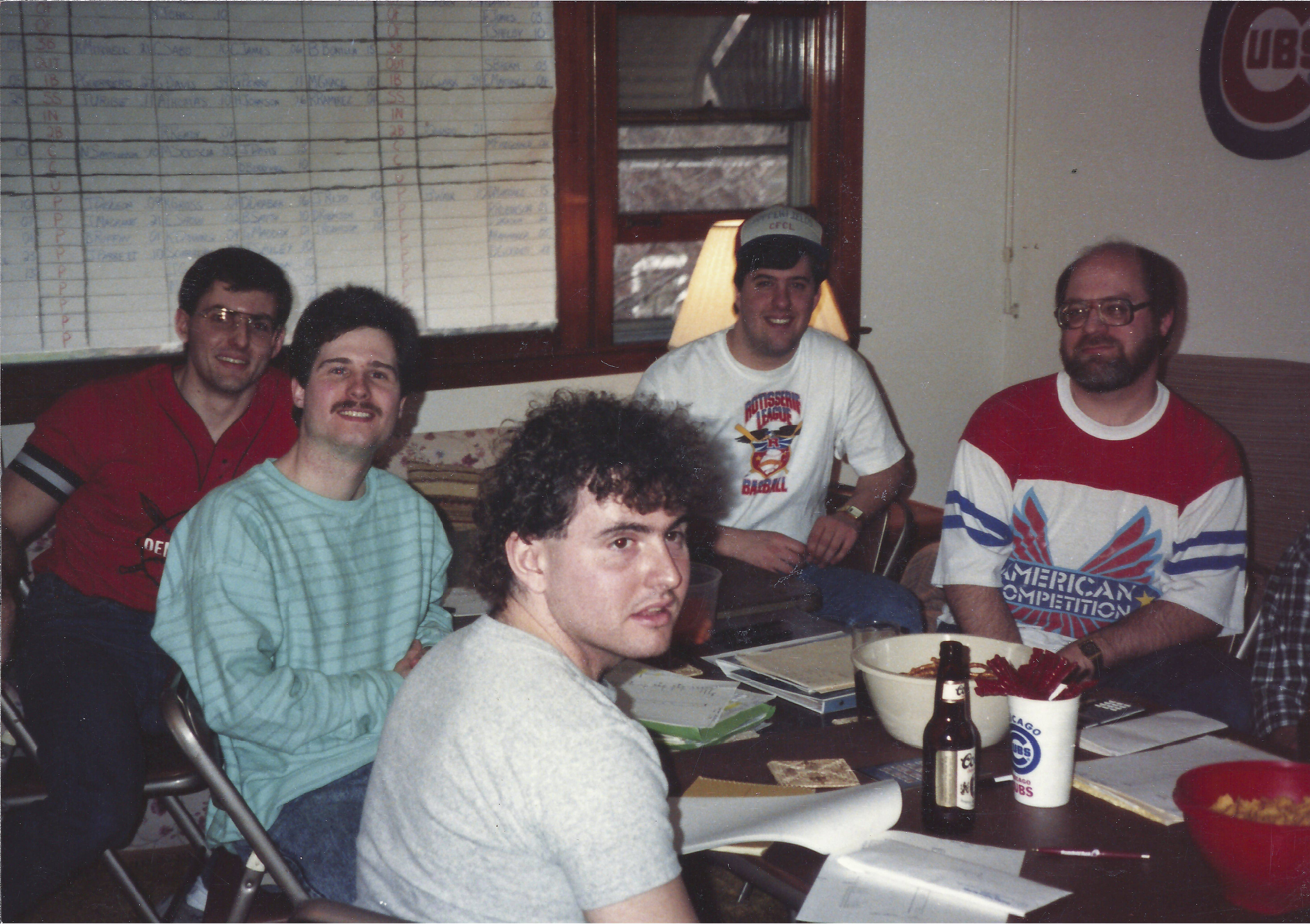 Part social event and part serious baseball business, the annual draft day gathering is like Christmas, the owners say. Owners at this draft in 1989 take a full day to make their picks.