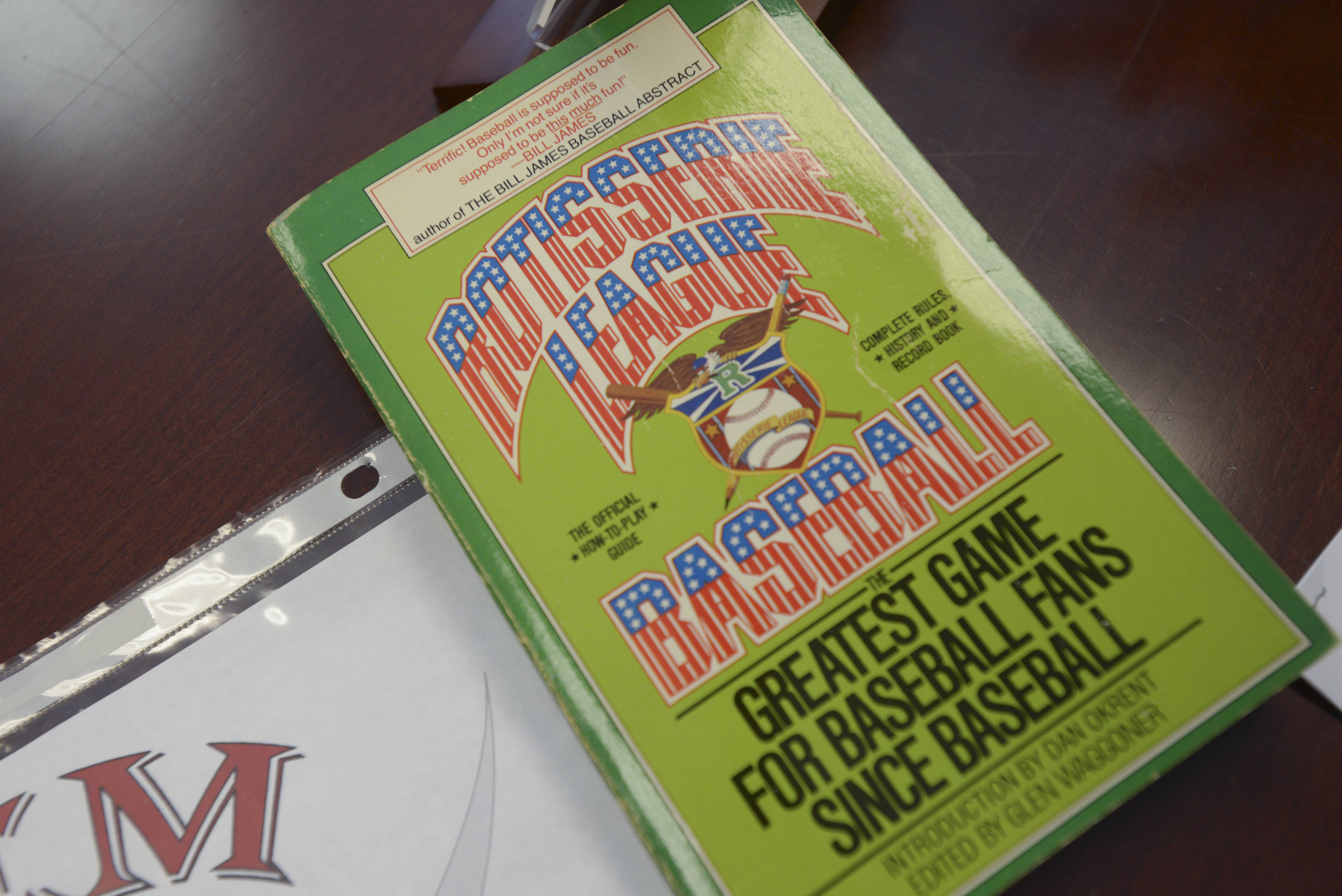 "The book ""Rotisserie League Baseball"" inspired two high school friends to start a fantasy baseball league in 1984. This month, that league, one of the oldest in existence, will conduct its 31st consecutive draft of players in Lisle."