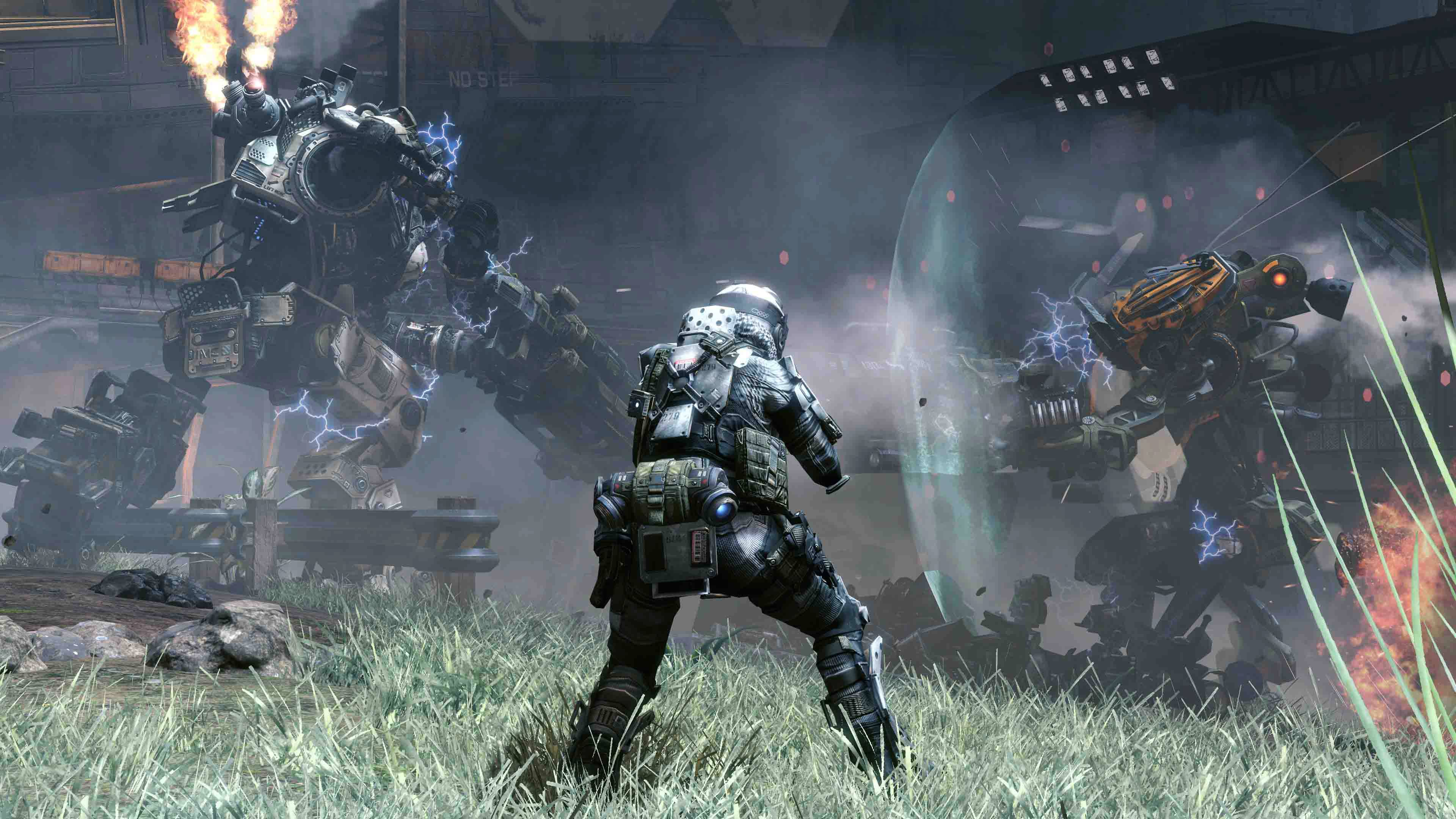"There are dozens of computer-controlled foot soldiers whose presence imbues ""Titanfall"" with the feeling of an epic war."
