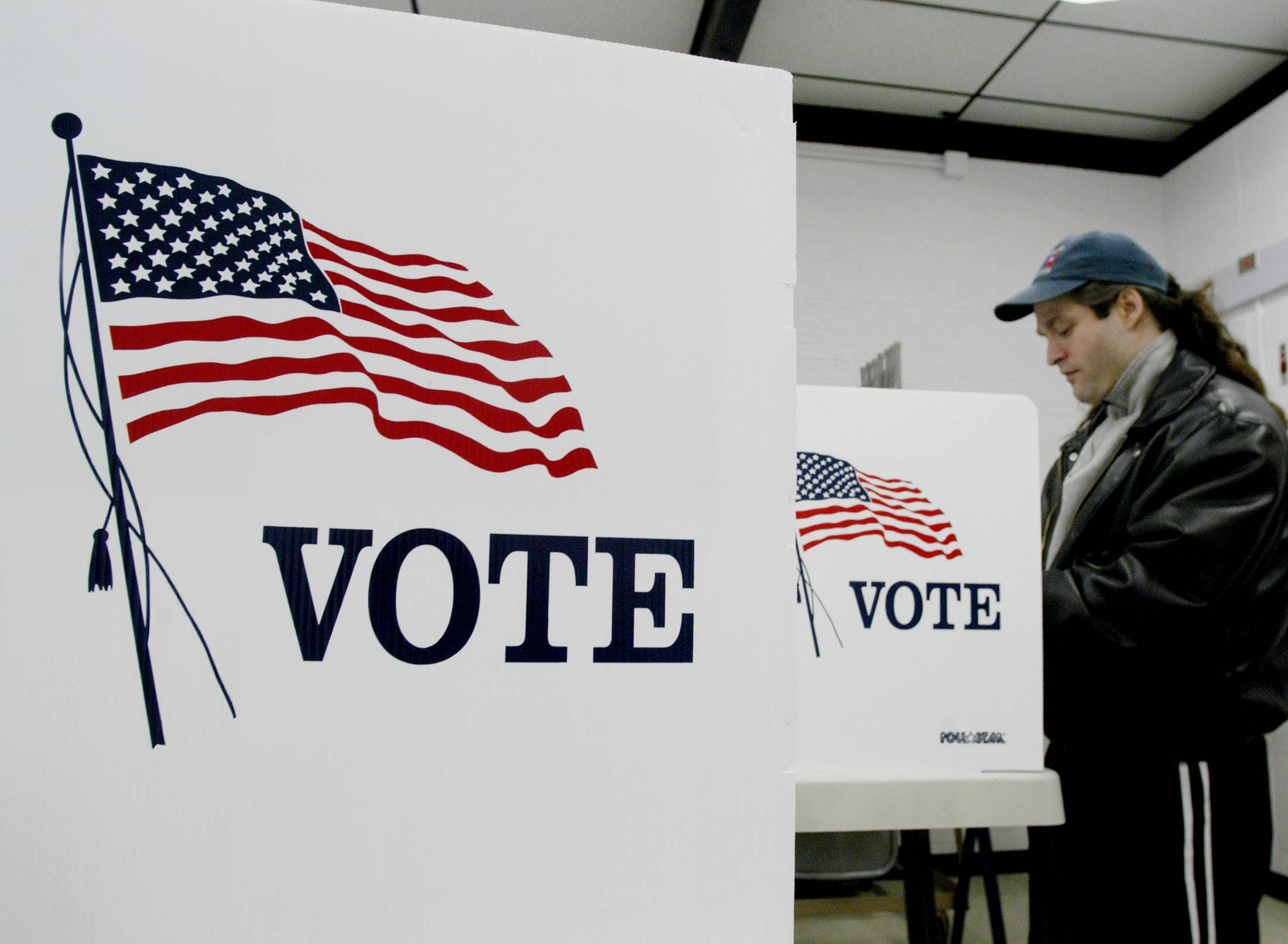 Voting today: Polling places, voters' rights, online help