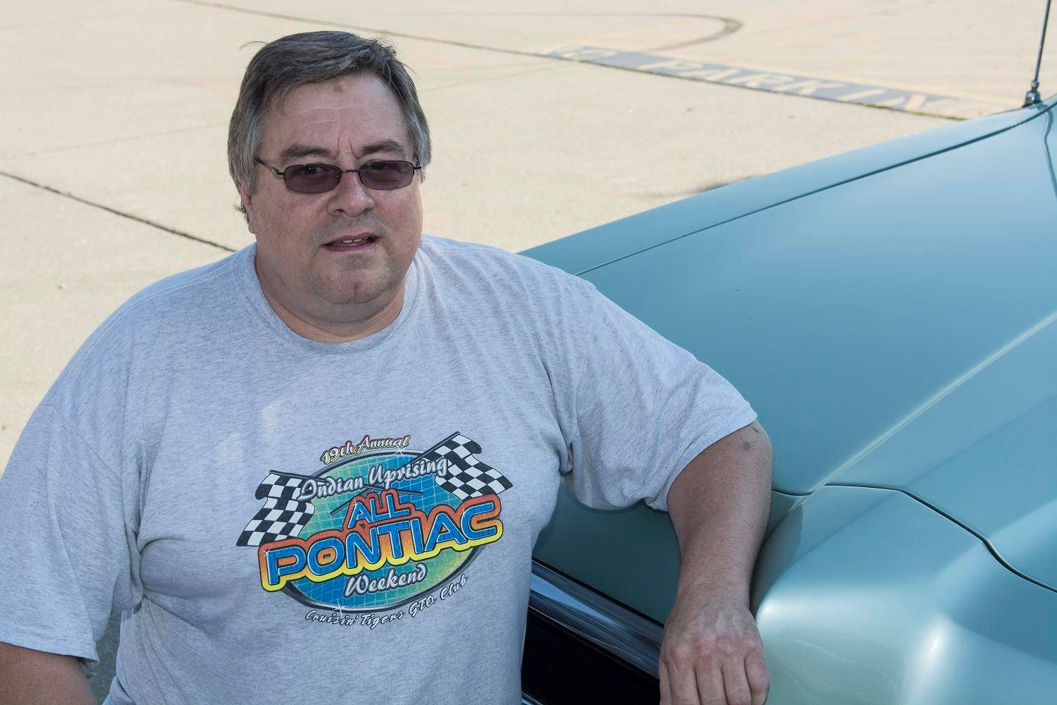 Jim Lindberg of Rolling Meadows spent seven months restoring his customized Pontiac back to original condition.