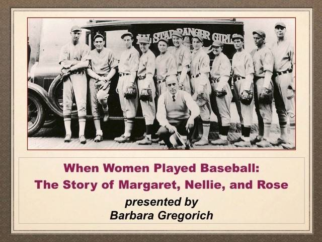 Drop by the Des Plaines History Center from 3-4 p.m. Sunday, March 30, to hear about what life was like when women played baseball.