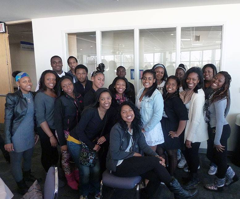 Eighteen Conant High School students attended Harper College's Black Teen Symposium on Feb. 27.