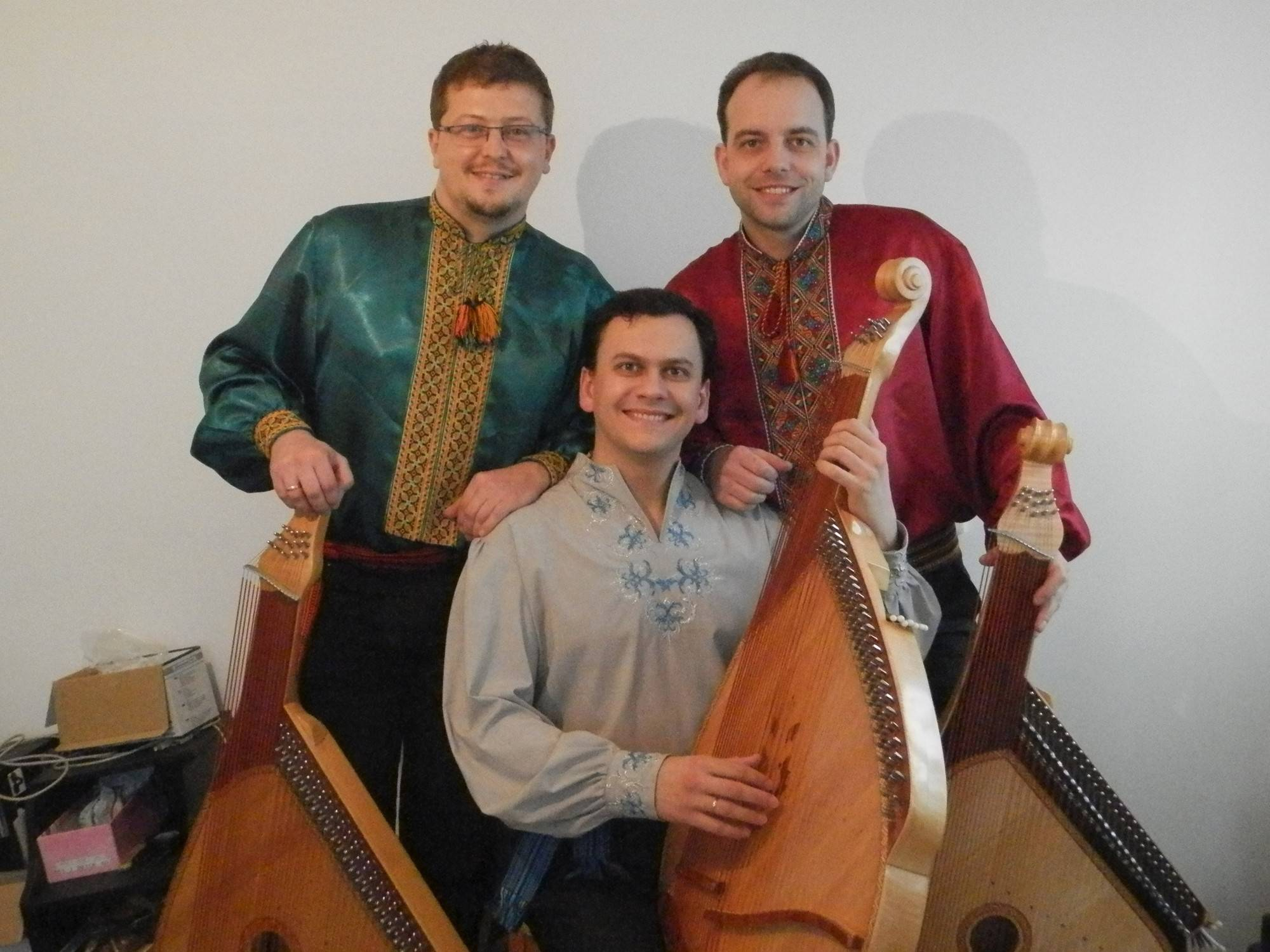 These Ukrainian musicians will be performing Saturday at the Palatine Library in celebration of the 200th birthday of Ukrainian poet Taras Shevchenko.