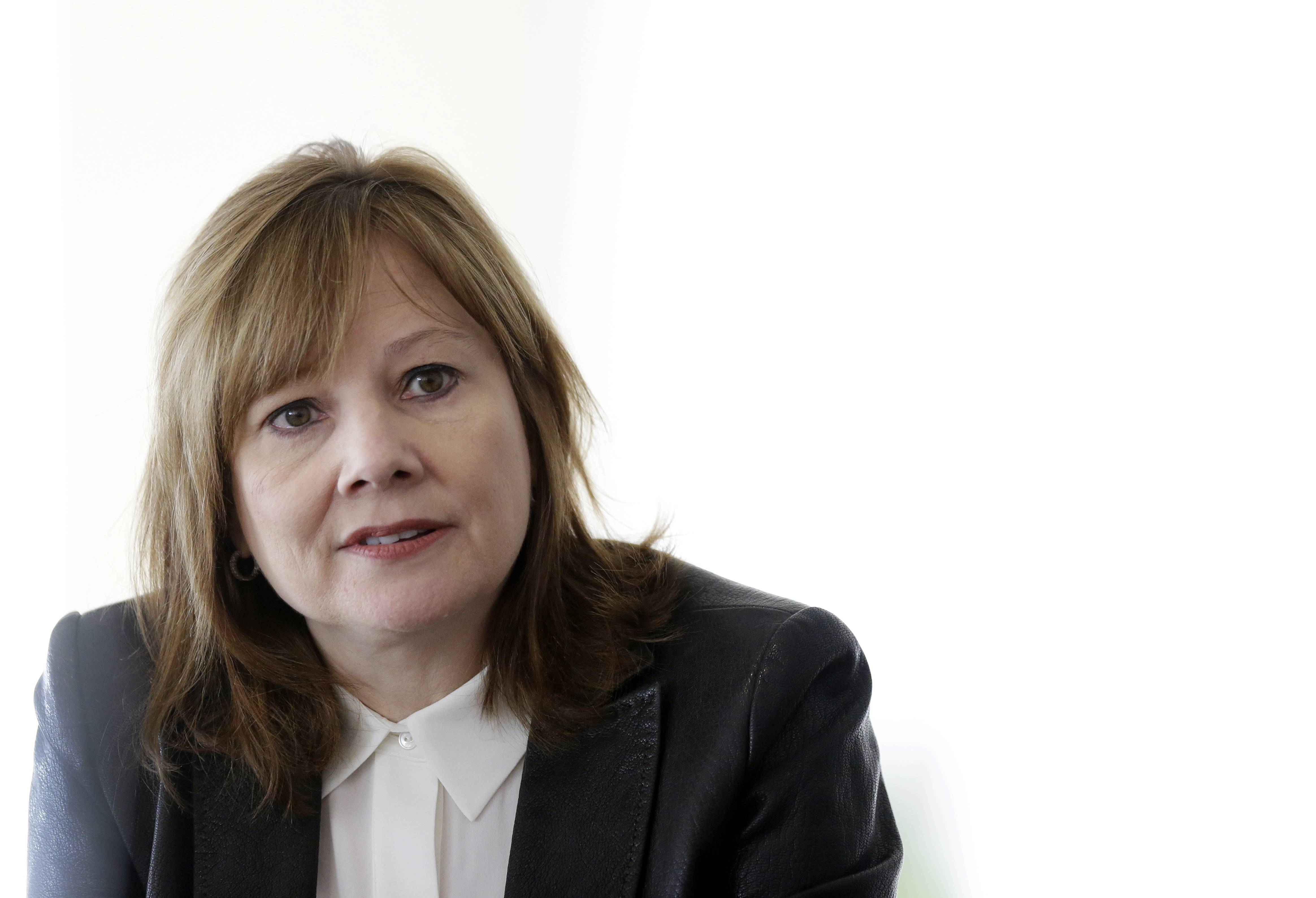 General Motors CEO Mary Barra, seen here on Jan. 23, apologized for deaths linked to the delayed recall of 1.6 million small cars, saying the company took too long to bring the cars in for repairs.
