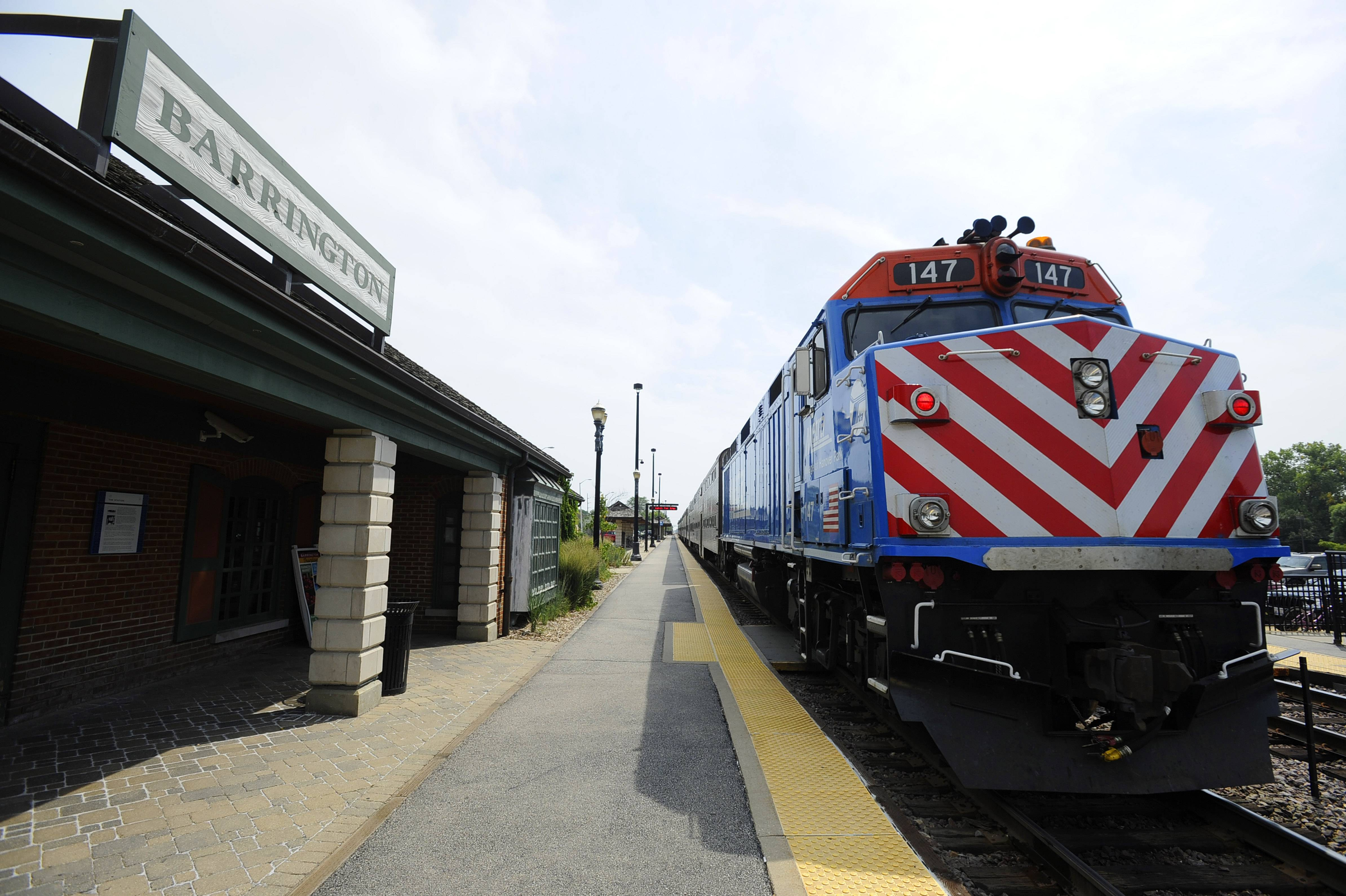 The Barrington Metra station will get an upgrade this summer.