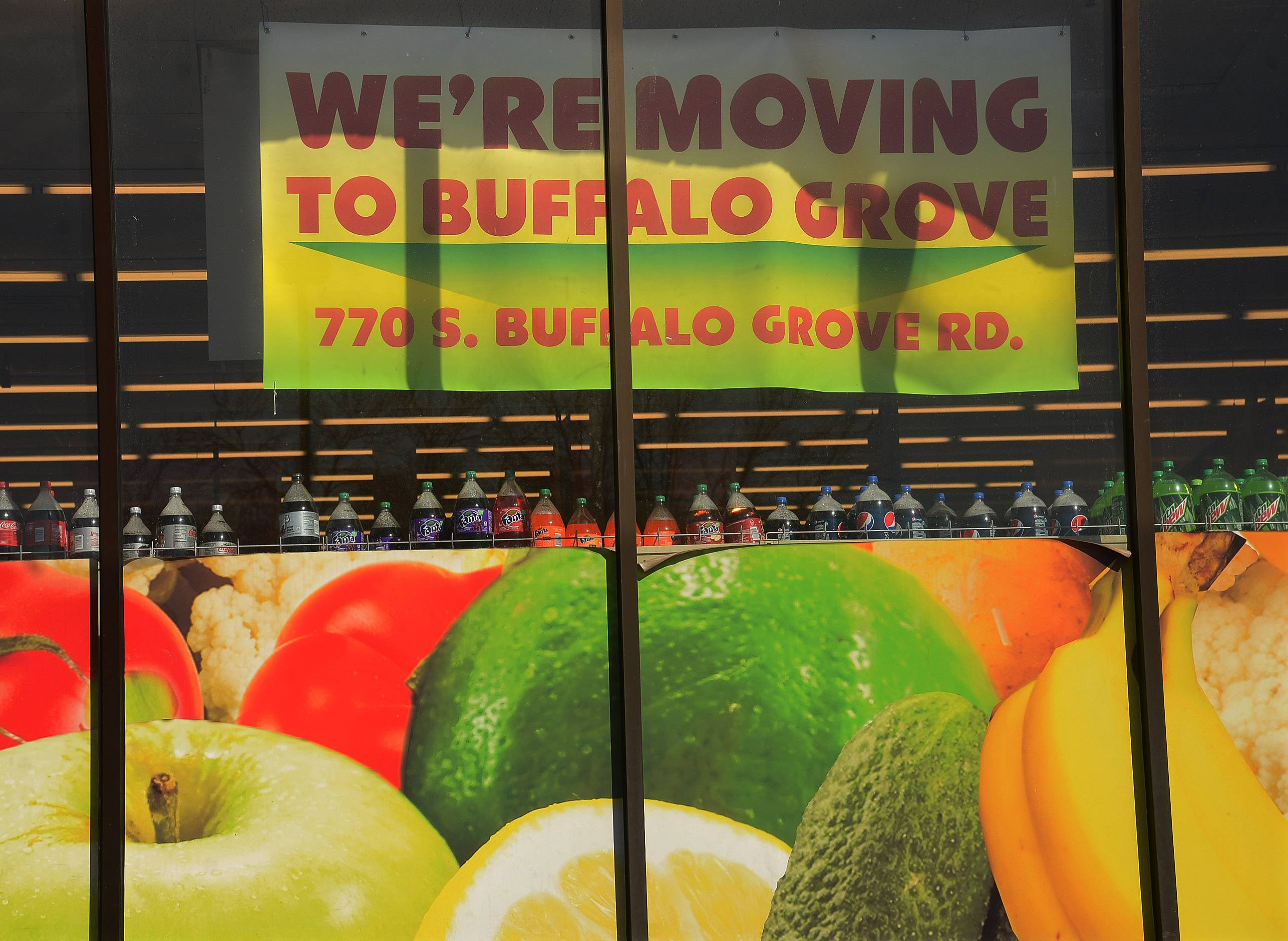 The Garden Fresh store in Wheeling is leaving for a bigger store in Buffalo Grove, which will open March 26.