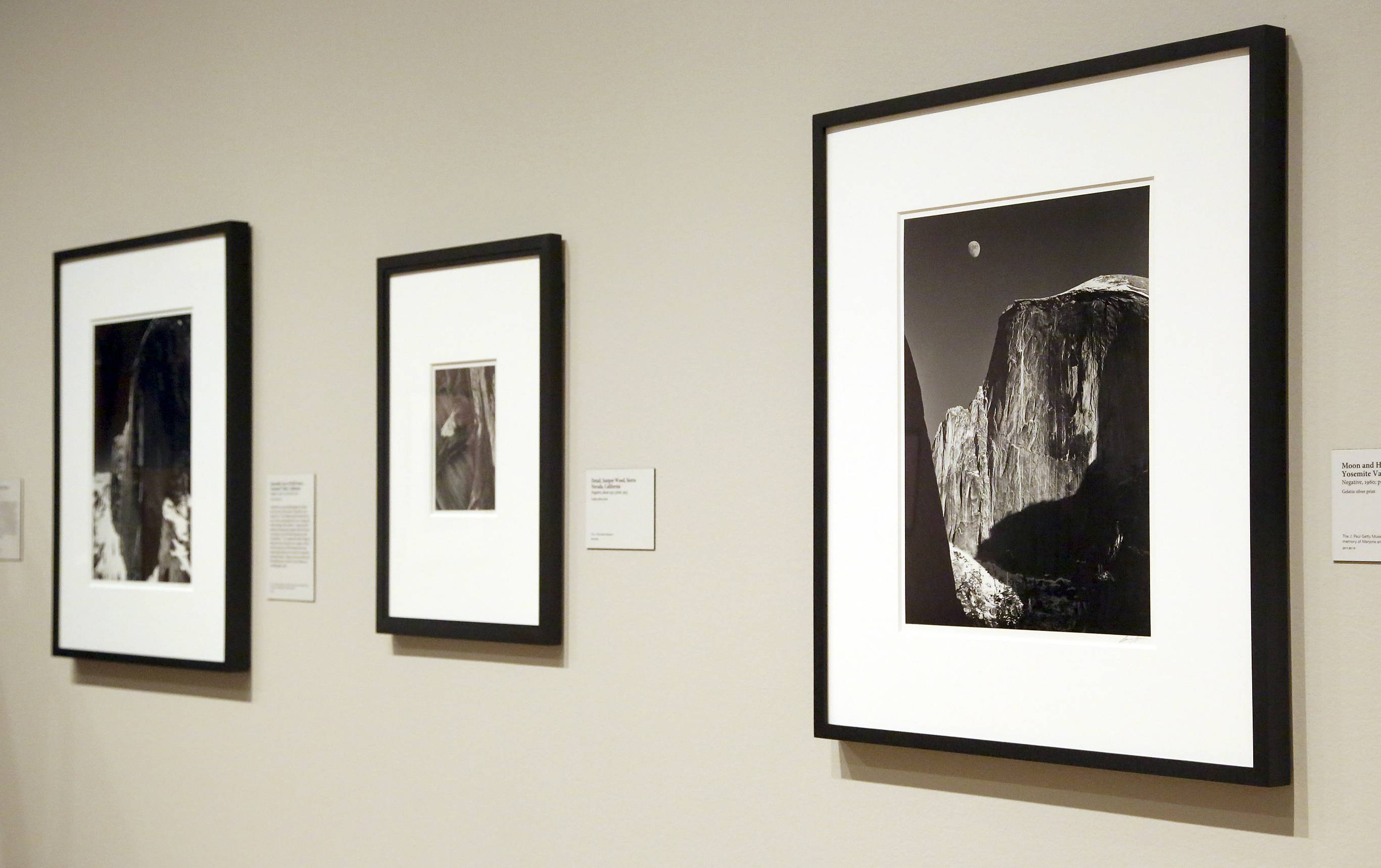 "Fans of Ansel Adams will get a treat when the new photo exhibit titled, ""In Focus: Ansel Adams,"" opens Tuesday at the J. Paul Getty Museum in Los Angeles."