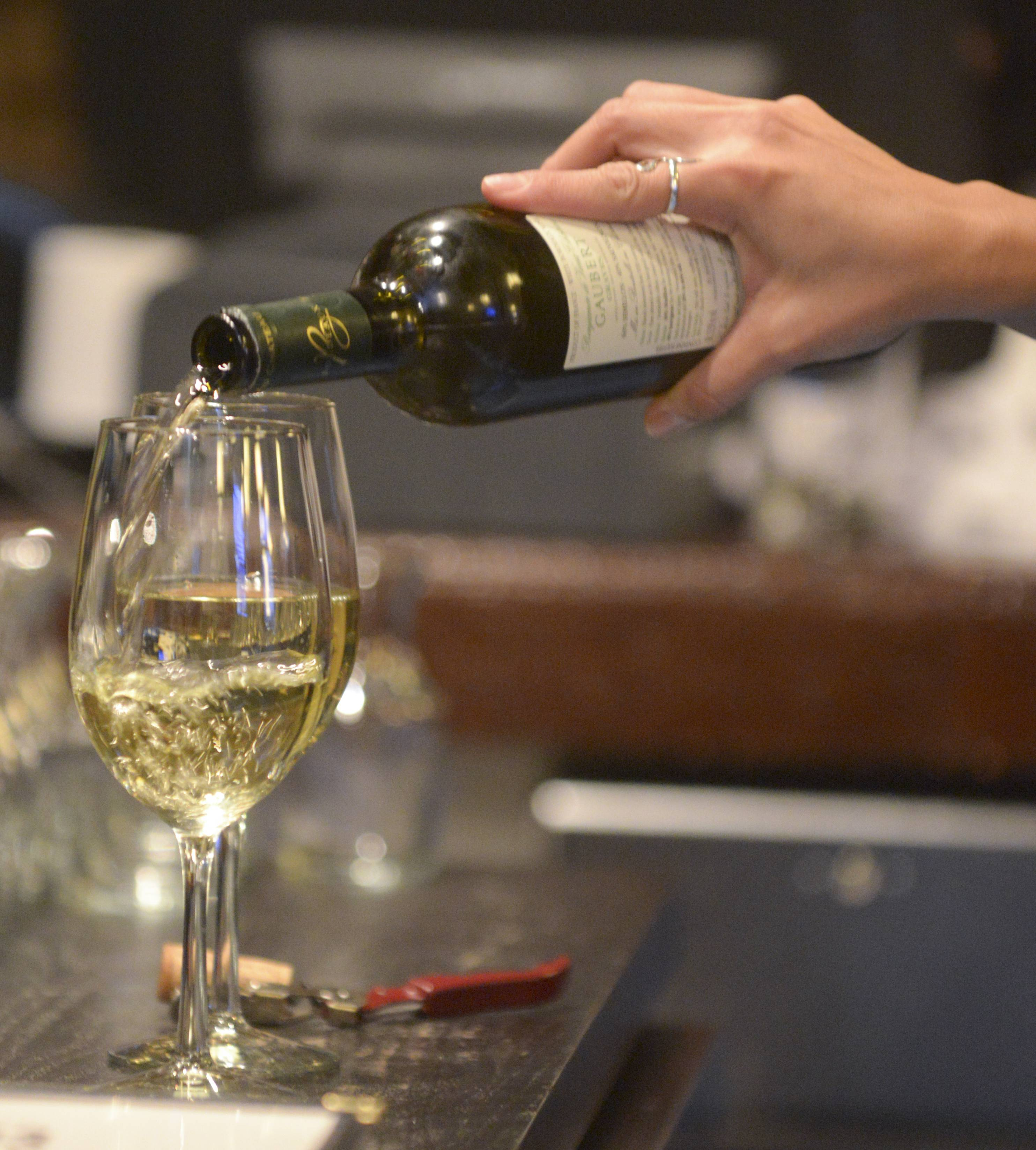 Wines from France and Italy share the spotlight at 1913 Restaurant and Wine Bar in Roselle.
