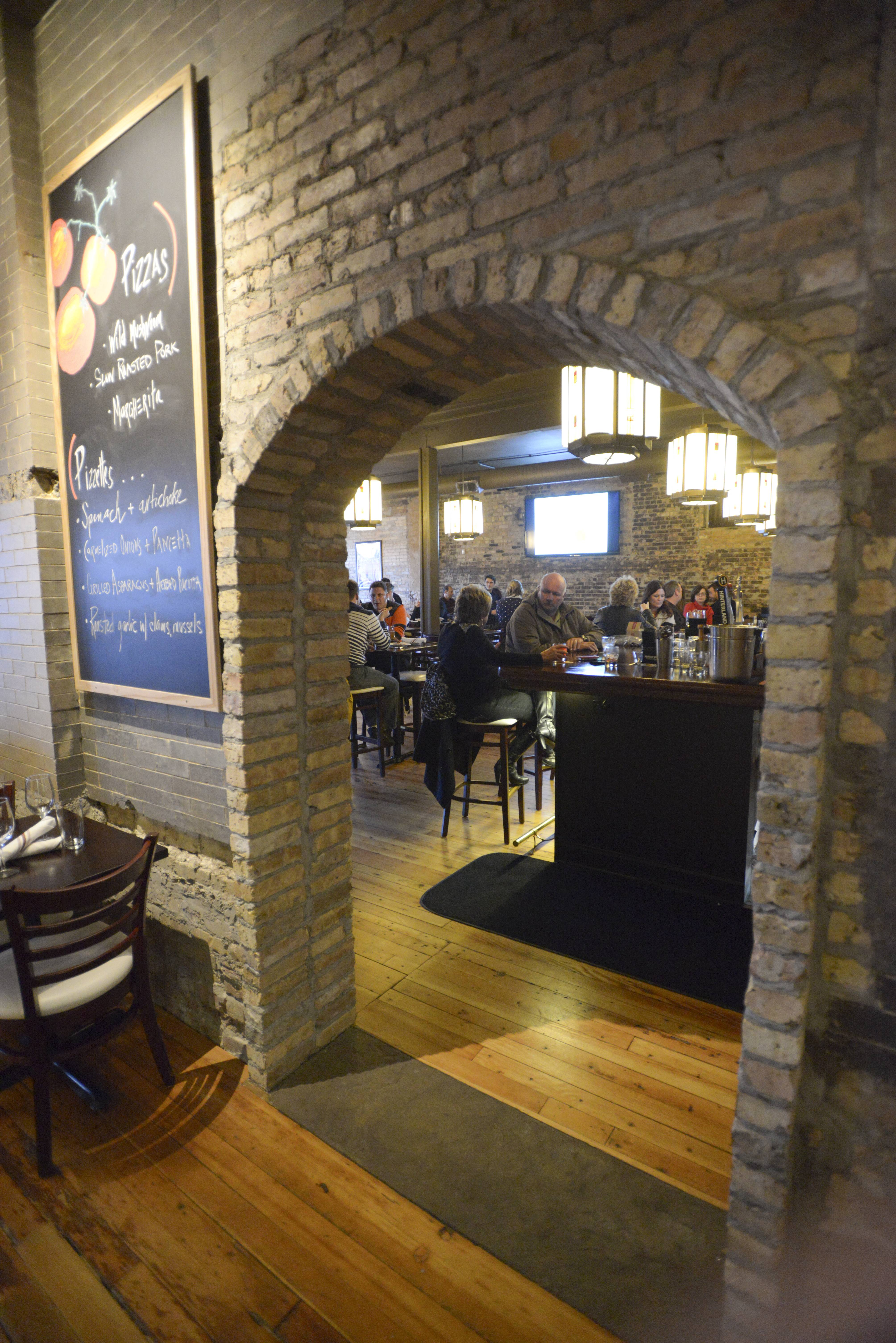 Roselle's 1913 Restaurant and Wine Bar focuses on Italian and French food and wine.