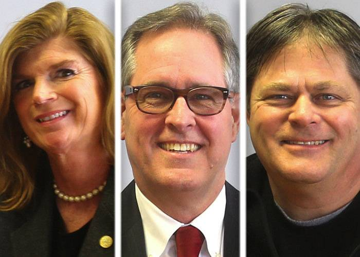 "Incumbents Suzanne Hart, Charles ""Chuck"" Maher and challenger Michael ""Big Mike"" Strick were competing for two Republican nominations to represent District 11 on the Will County Board."