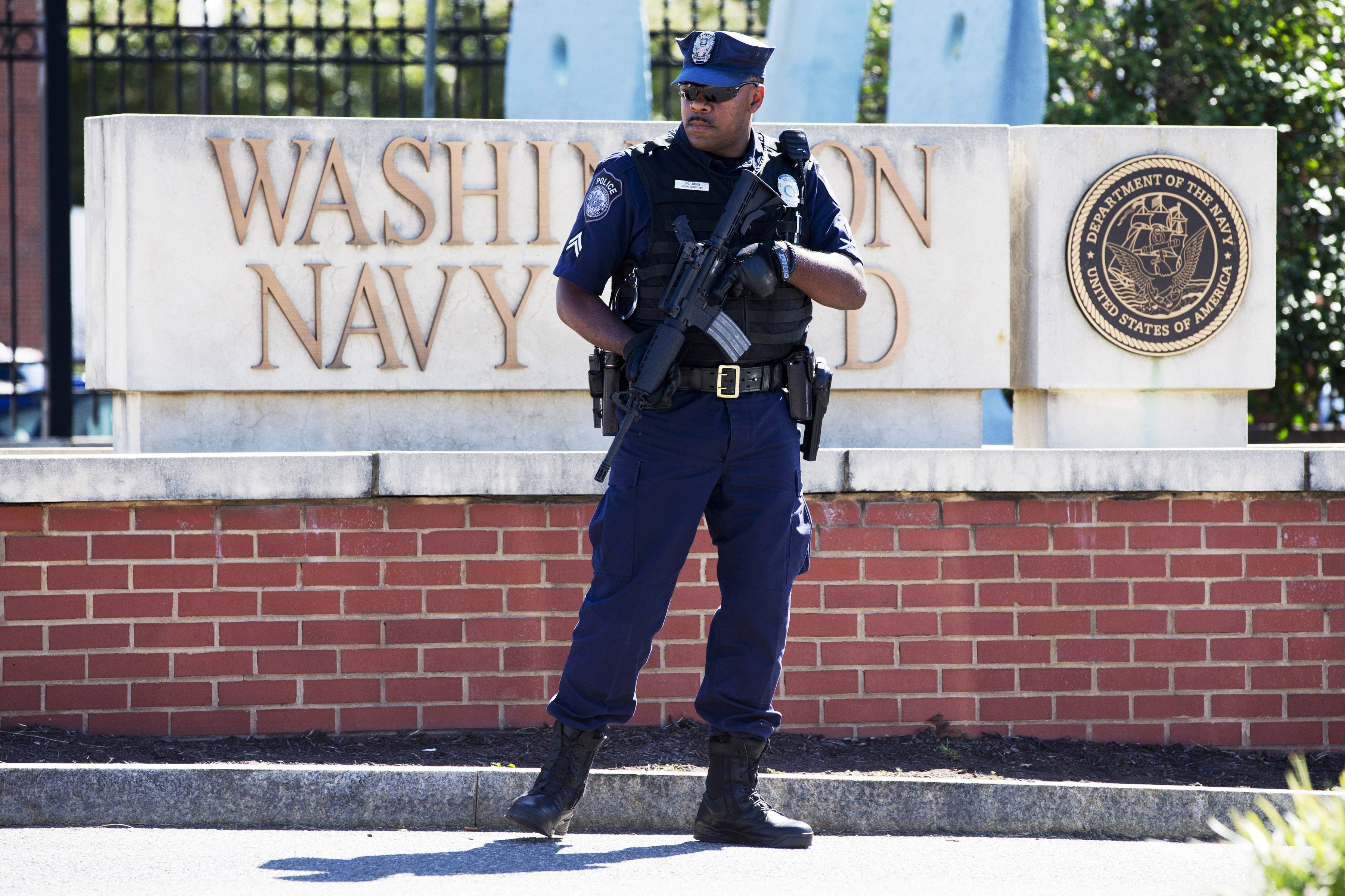 An independent review triggered by the Washington Navy Yard killings last year says threats to Defense Department personnel and facilities increasingly are coming from within.