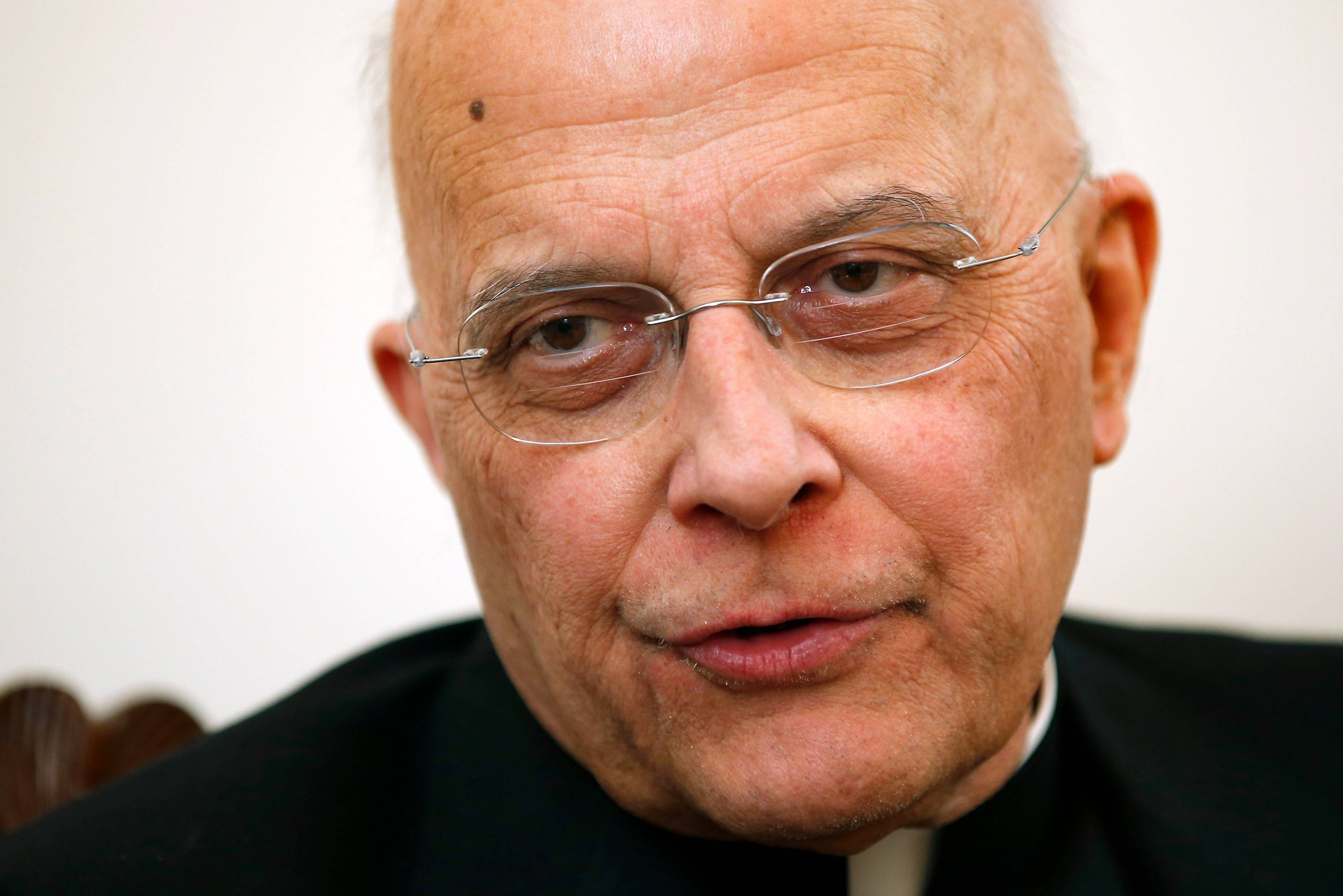Archdiocese spokeswoman Colleen Dolan said Monday the decision to admit Cardinal Francis George to the hospital Friday was made so that he could receive intravenous fluids and antibiotics.