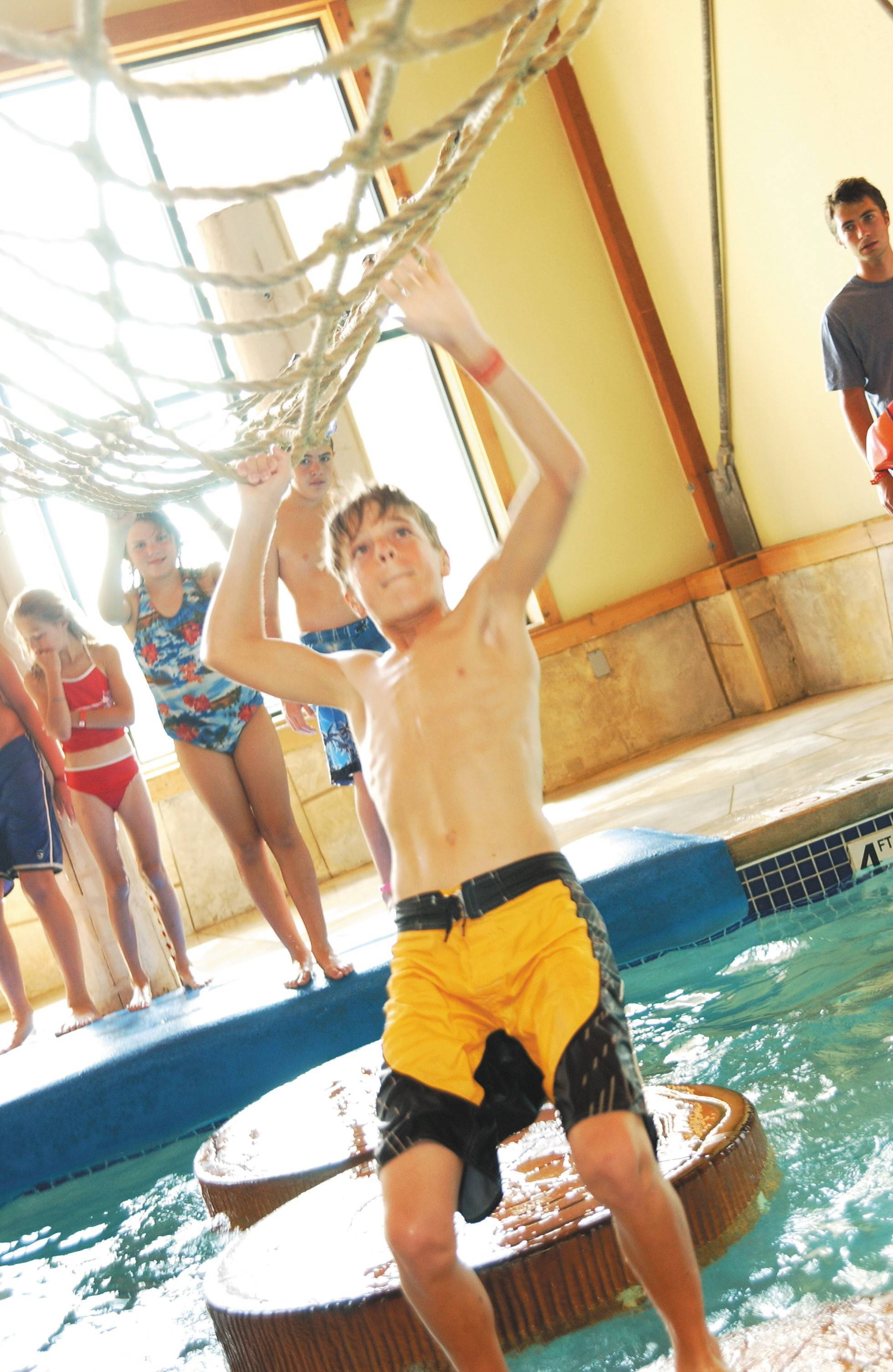 Great Wolf Lodge is one of several area indoor waterparks that splash plenty of wet winter fun.