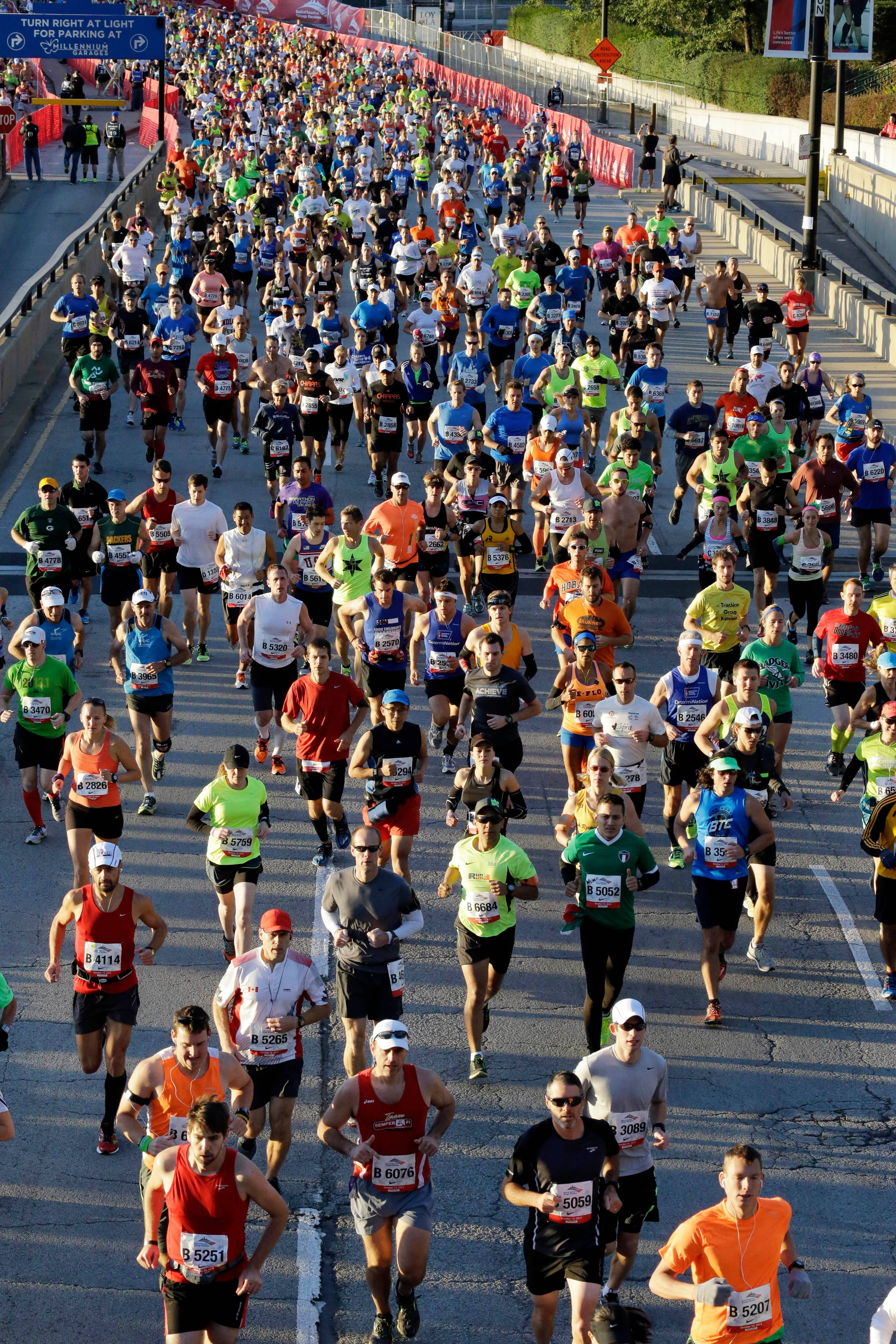 Registration is now under way for the Chicago Marathon. The race will be held Sunday, Oct. 12, with a cap of 45,000 runners.