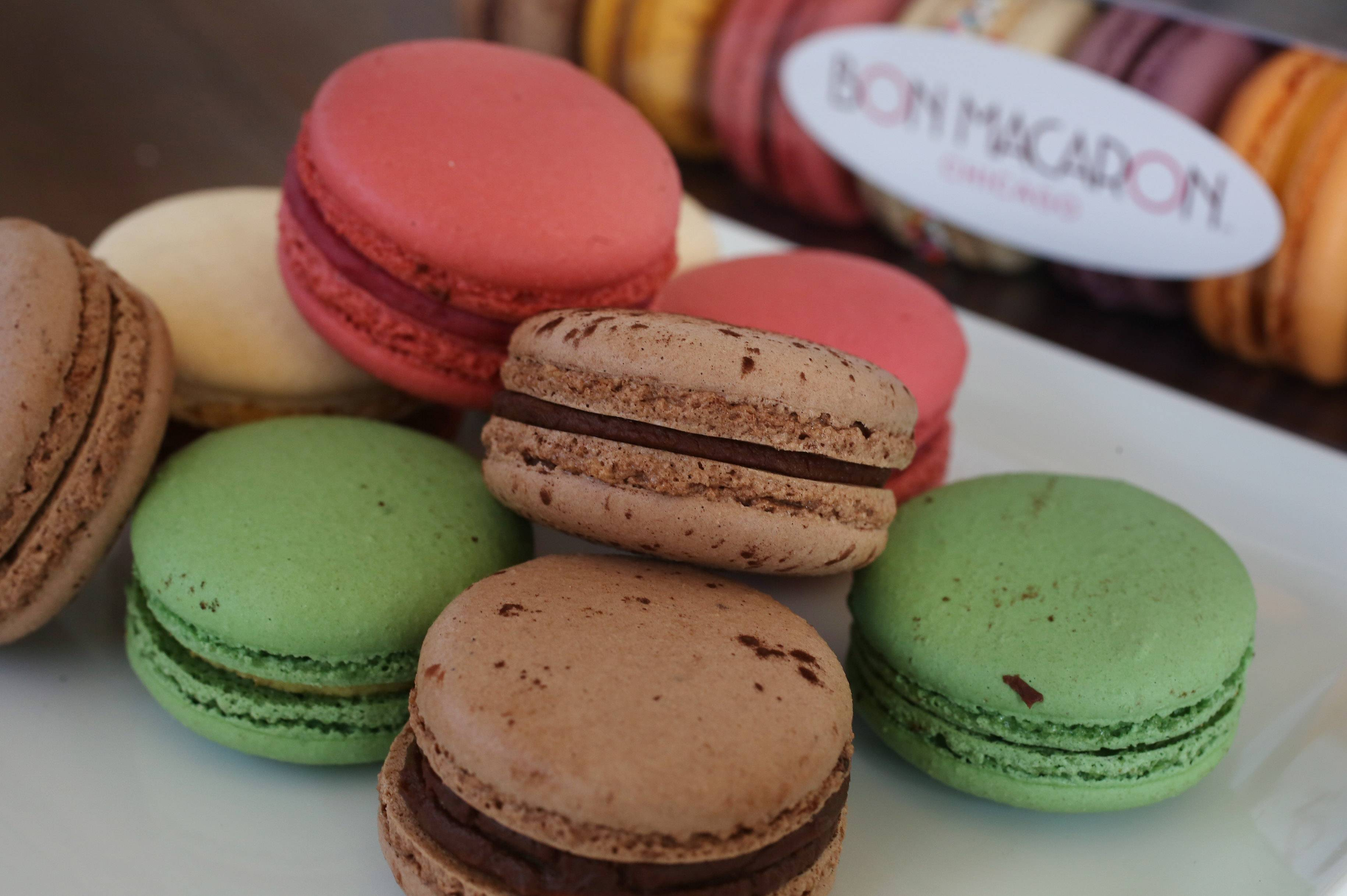 Catherine Cooper's Bon Macaron Chicago are delicate French cookies.