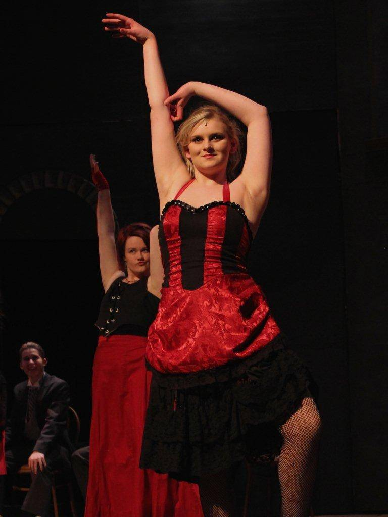 "Molly Carberry portrays Lucy in Geneva High School's musical, ""Jekyll & Hyde."""