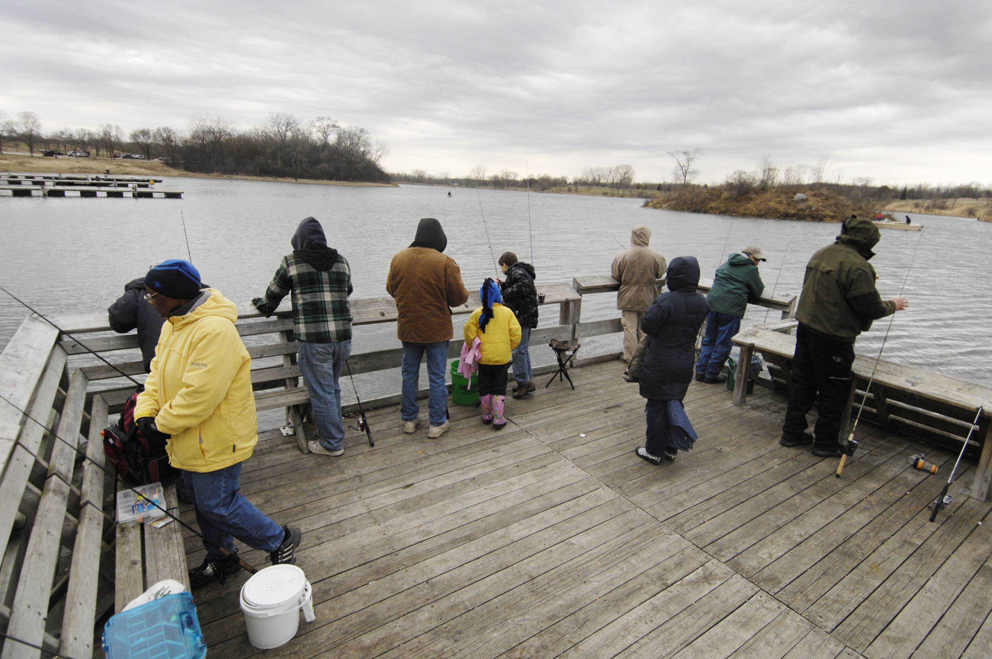 Rainbow trout season opens at 6 a.m. April 5 at three DuPage County forest preserves.