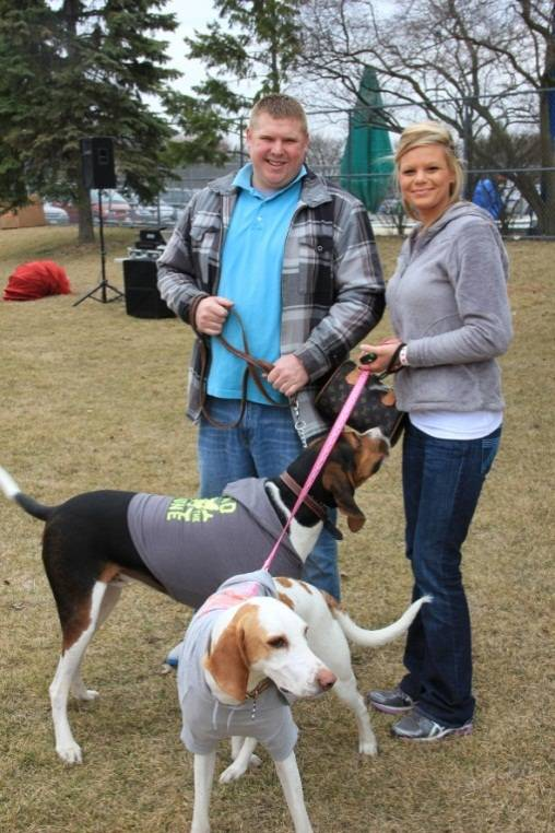 Dogs bring their owners for a day of tail waggin' fun at last year's Canine Carnival.Schaumburg Park District