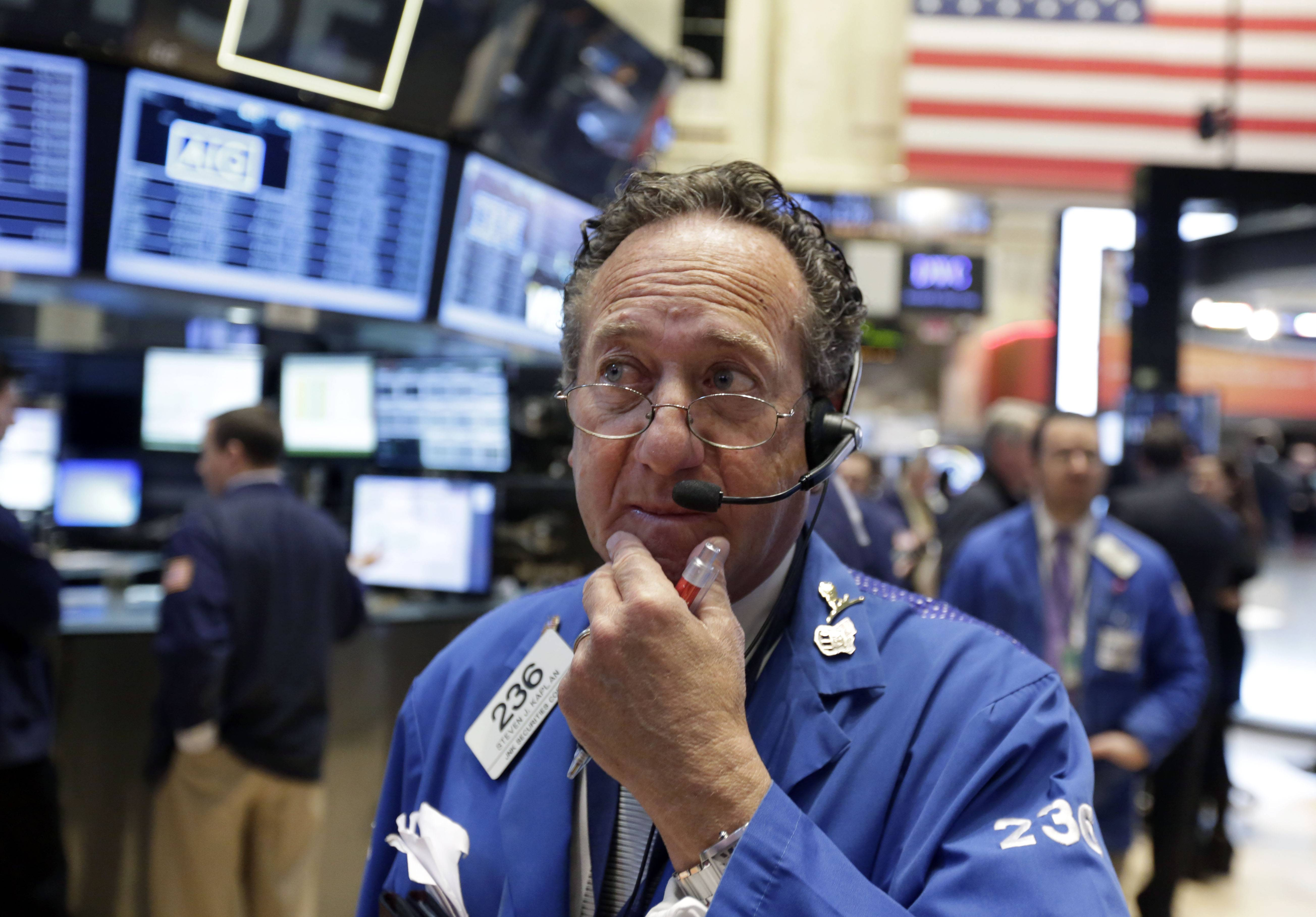 Stocks on Thursday rose for the third time this week as reports on leading indicators and regional manufacturing fueled optimism in the economy, overshadowing concern that interest rates may rise in the middle of next year.
