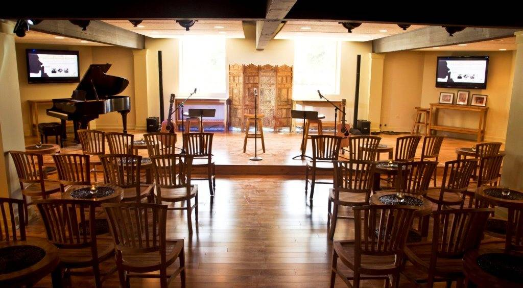 The Listening Room is an intimate concert venue and also a place for aspiring artists to record their songs locally.