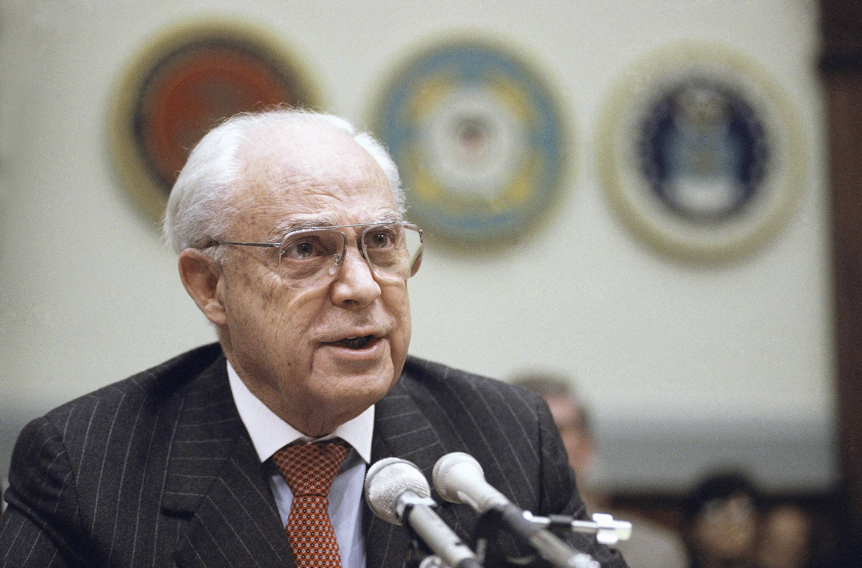 Robert Strauss, a former chairman of the Democratic Party and an ambassador to the Soviet Union, has died. Strauss' law firm confirmed his death Wednesday, March 19, 2014, at age 95.