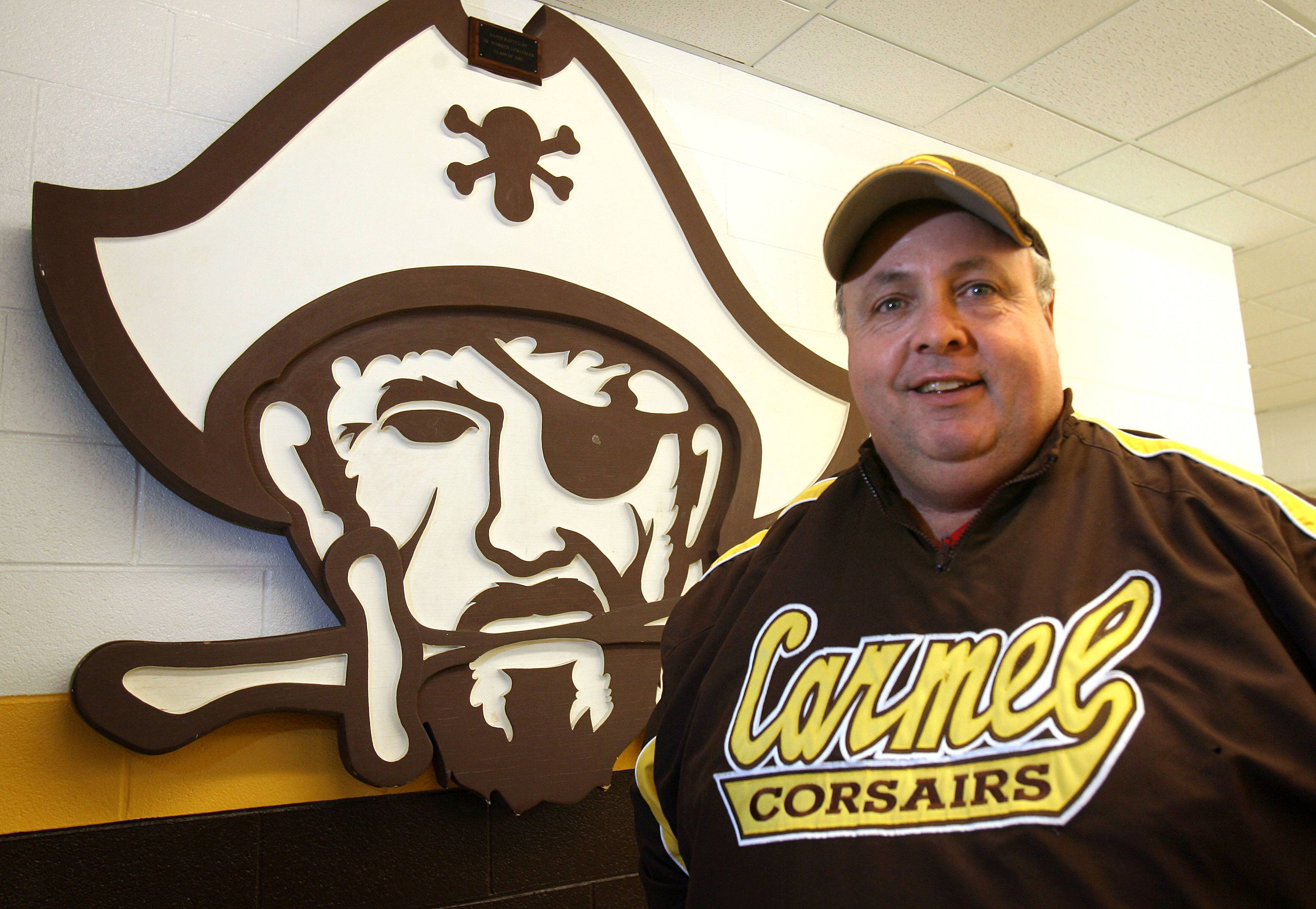 Former Carmel baseball coach Chuck Gandolfi is now Lake Zurich's coach.