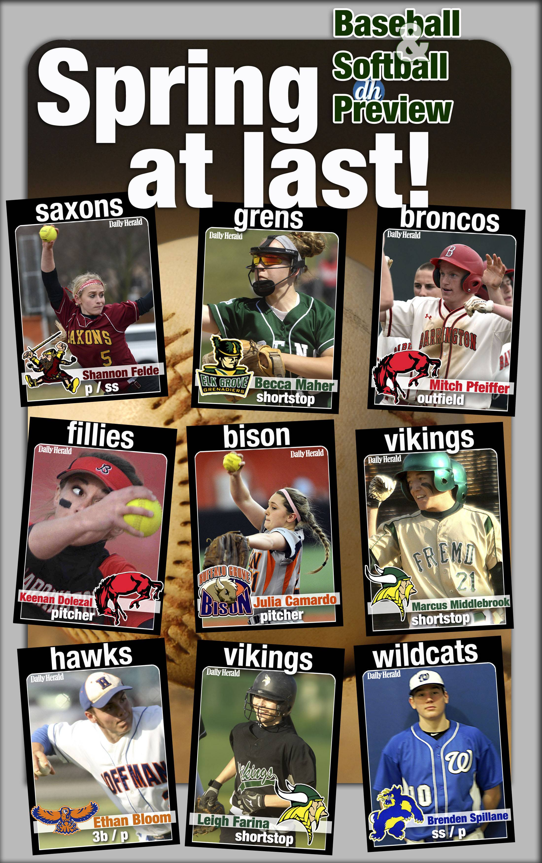 Images: Daily Herald Prep Trading Cards