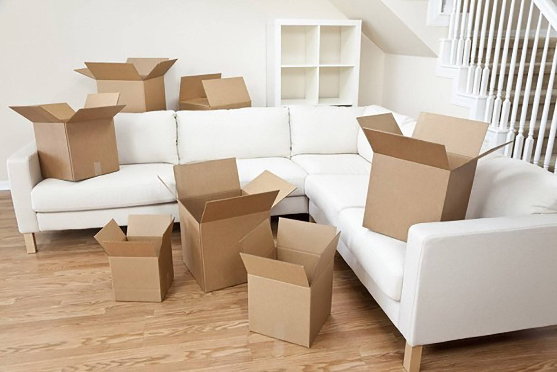 "Moving can be a time to embrace ""out with the old, in with the new."""