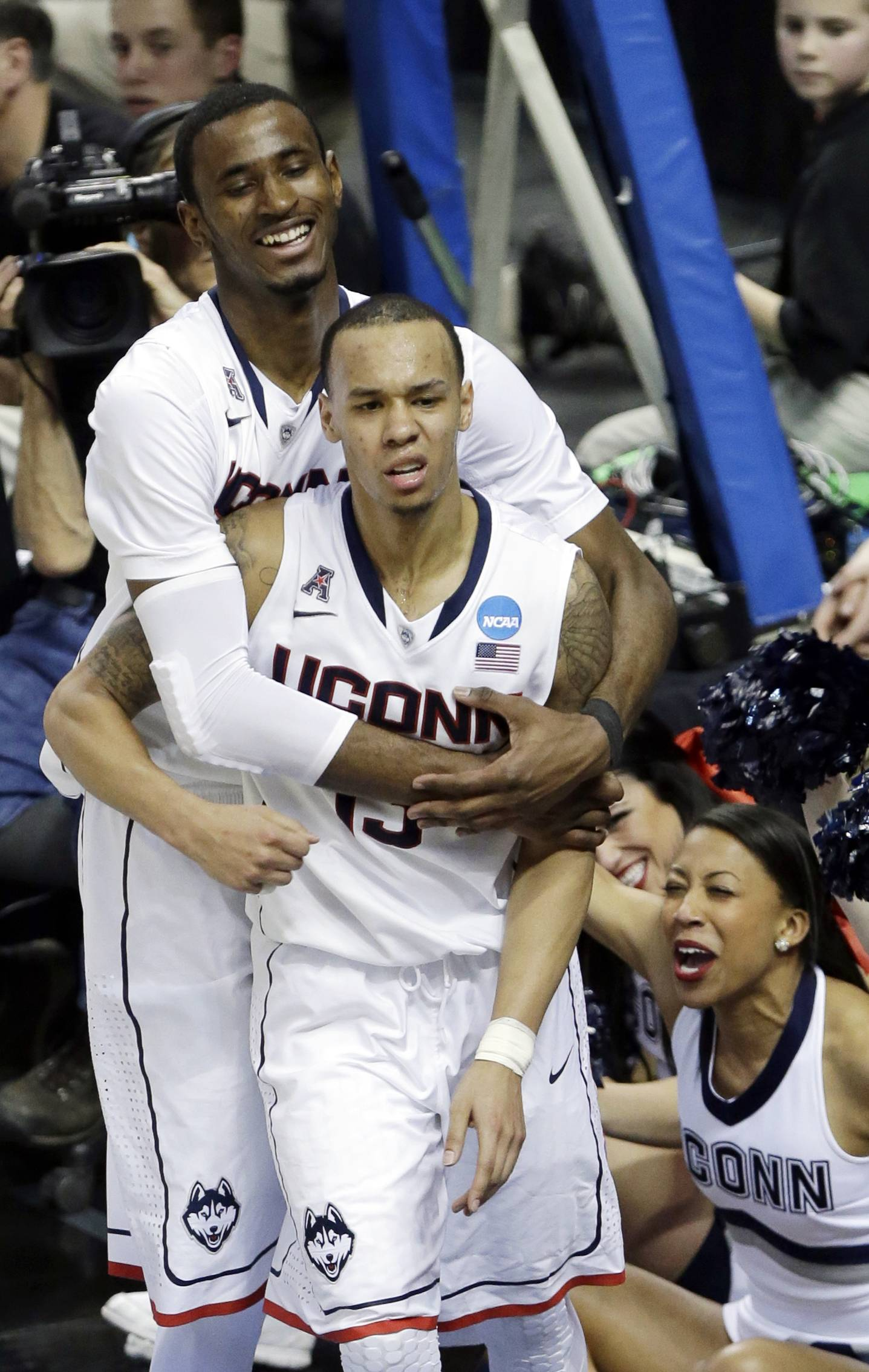 UConn outlasts Saint Joseph's in 89-81 OT win