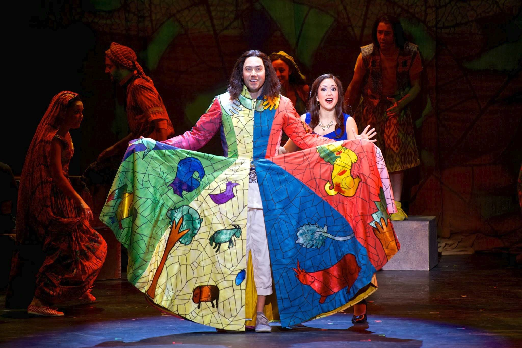 """American Idol"" alums and husband-and-wife team Ace Young and Diana DeGarmo respectively star as Joseph and the Narrator in the new tour of Andrew Lloyd Webber and Tim Rice's ""Joseph and the Amazing Technicolor Dreamcoat."""