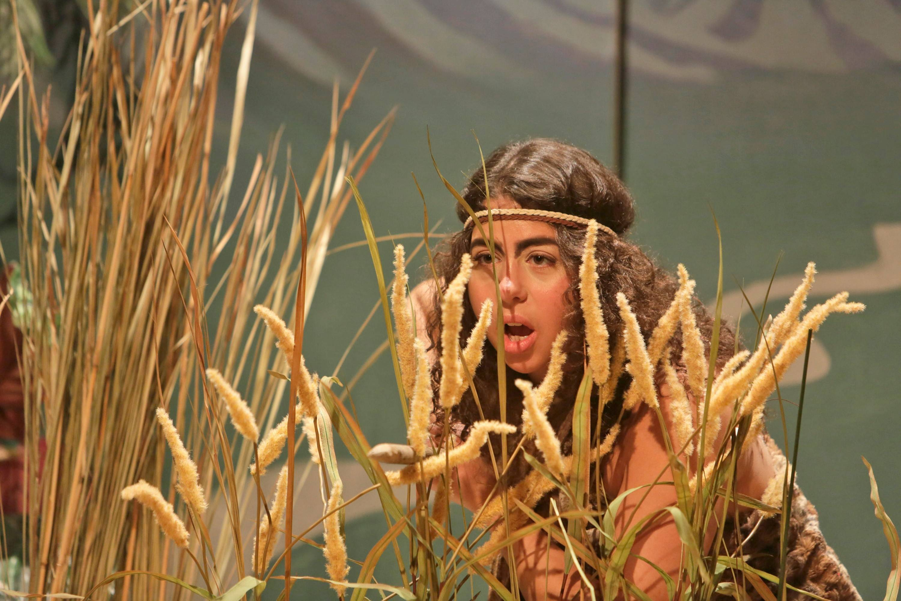 "Susaan Jamshidi stars in ""Seven Homeless Mammoths Wander New England,"" which opened this week at Theater Wit in Chicago."