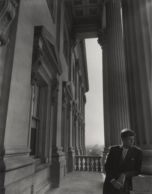 A portrait of John F. Kennedy is part of an Arnold Newman exhibit making its Illinois debut at the Lake County Discovery Museum in Wauconda.