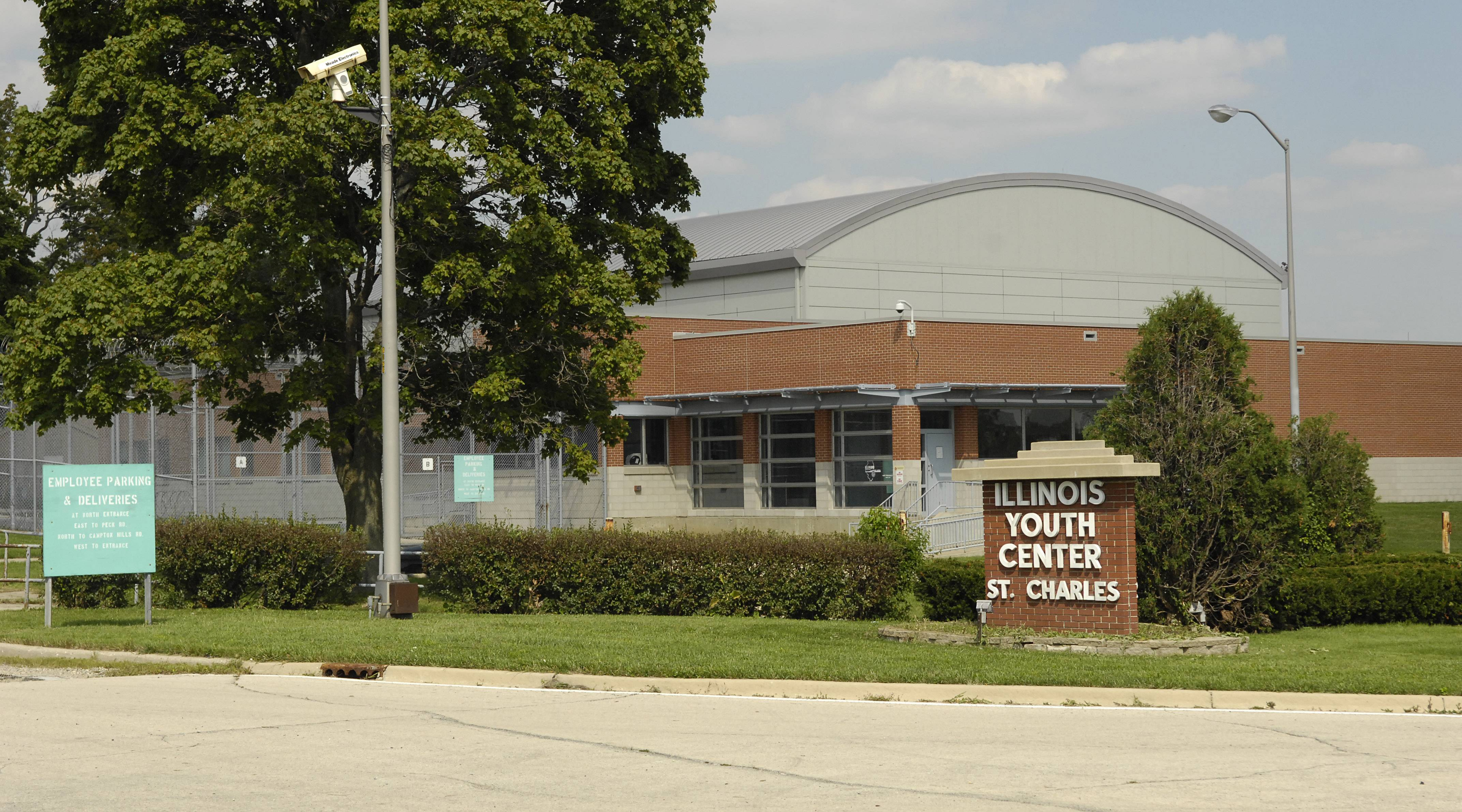 The Illinois Youth Center in St. Charles.