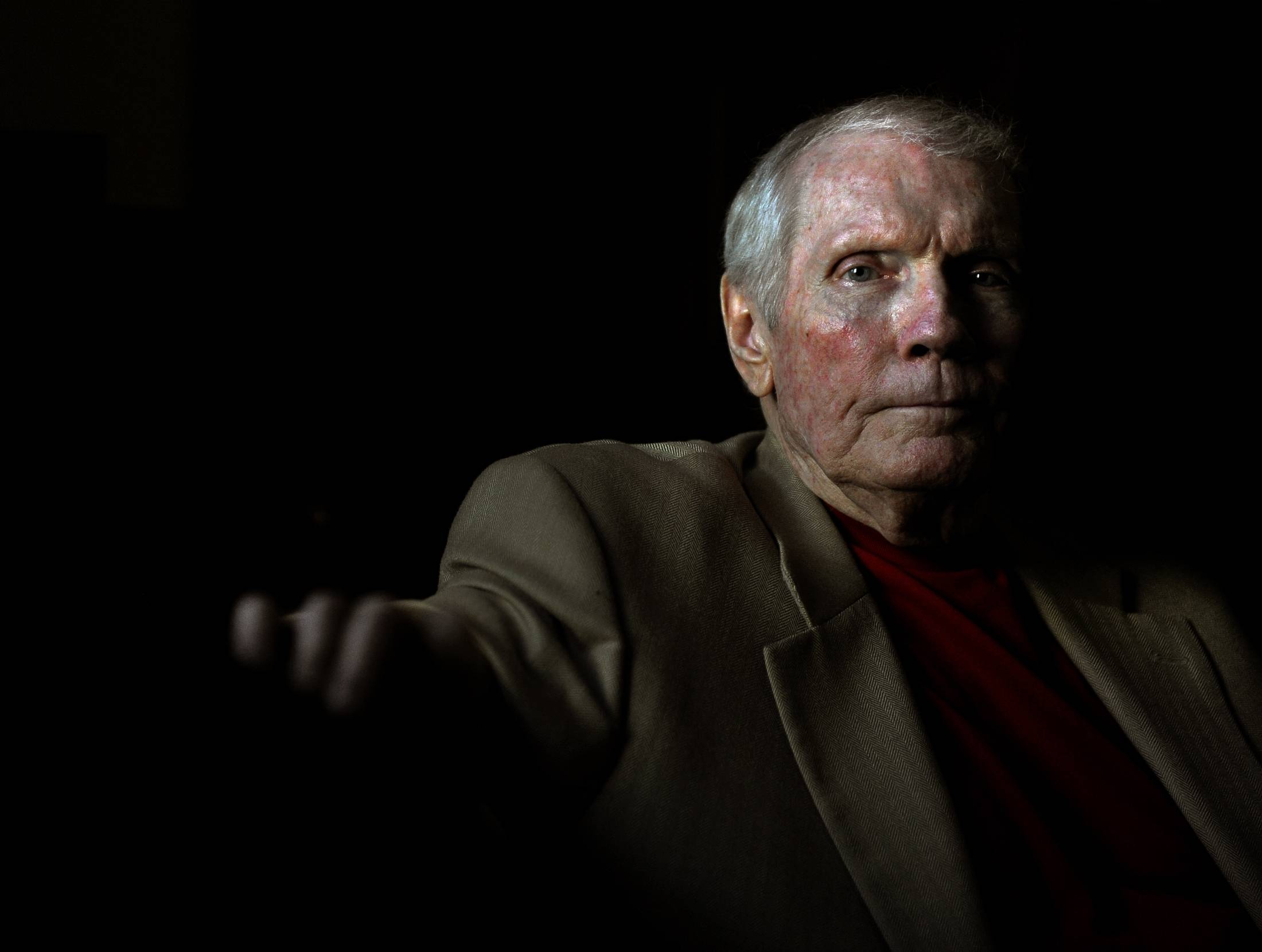 The Rev. Fred Phelps, shown in Topeka, Kan., in 2010, was the leader of the controversial Westboro Baptist Church in Topeka. He died March 19 at age 84.