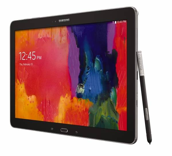 The Galaxy Note Pro 12.2 further blurs the distinction between a laptop and a tablet computer. Its on-screen keyboard has capabilities that are more common with laptops, and its screen is larger than what many laptops have.