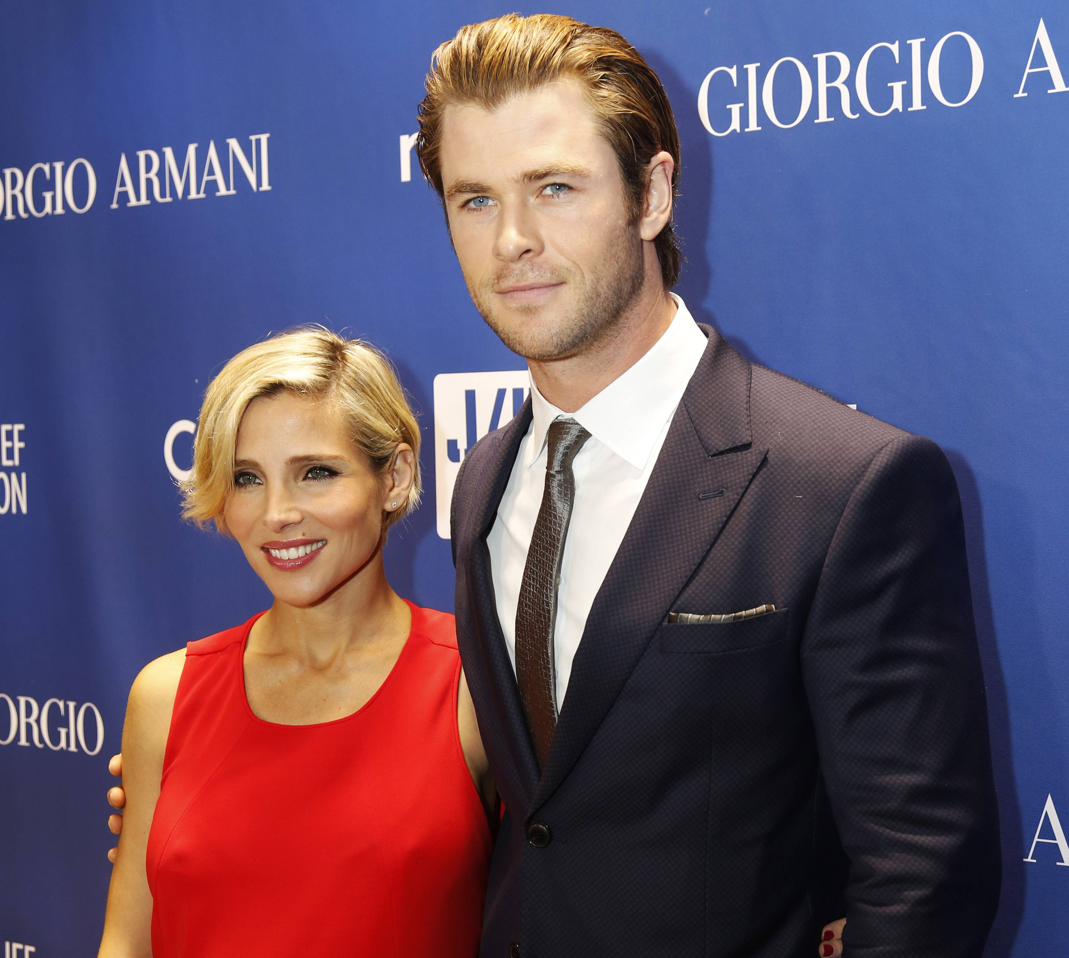 "Elsa Pataky, left, and actor Chris Hemsworth have welcomed not one but two sons. The twins of the 30-year-old ""Thor: The Dark World"" star and the 37-year-old ""Fast and Furious 6"" actress were born in Los Angeles, Hemsworth's publicist, Robin Baum says."