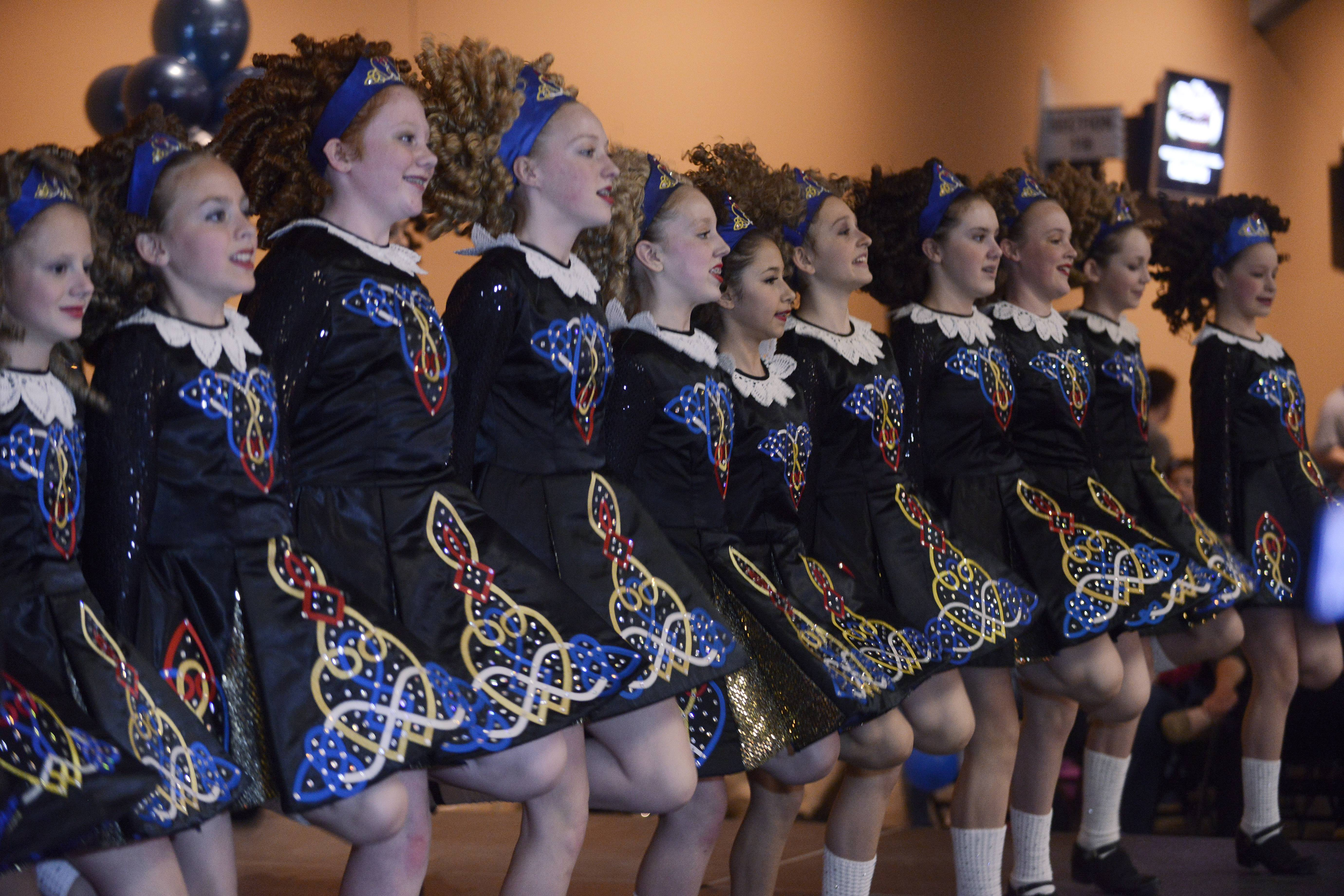 The Rebecca McCarthy Irish Dancers, based in Algonquin, performing at a previous edition of the Village of Hoffman Estates' Celtic Fest at the Sears Centre Arena in Hoffman Estates.