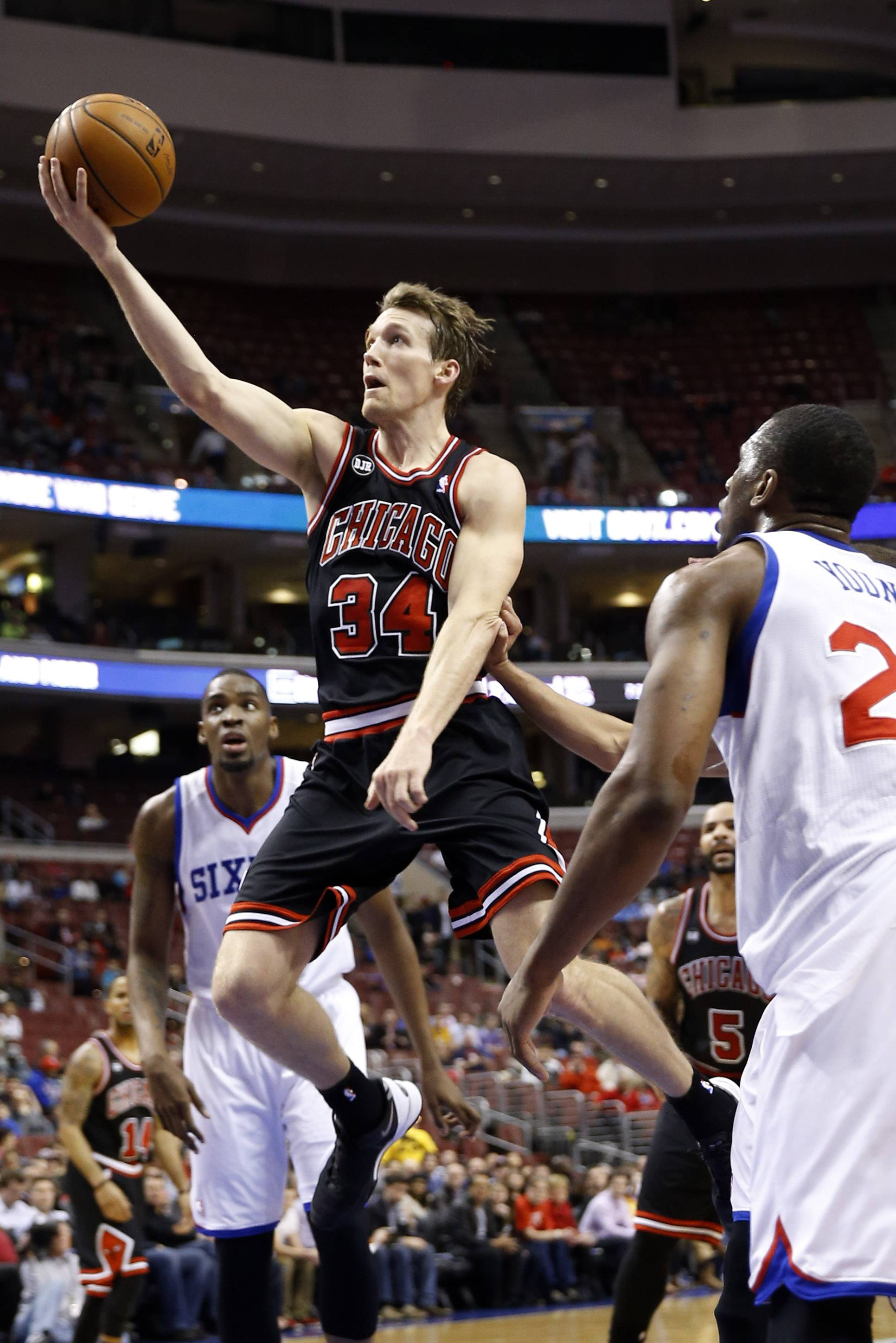 Mike Dunleavy has taken on a heavier workload for the Bulls since the trade of Luol Deng to Cleveland.