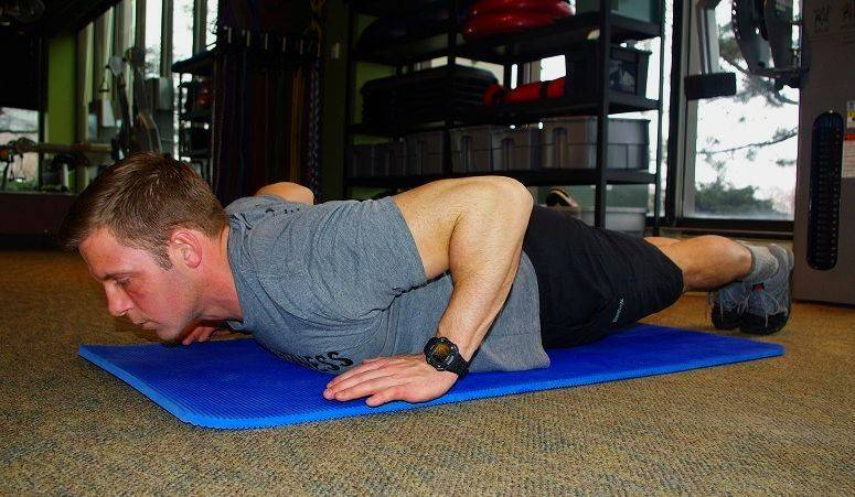The hand release pushup requires much more stability and power than a traditional pushup.