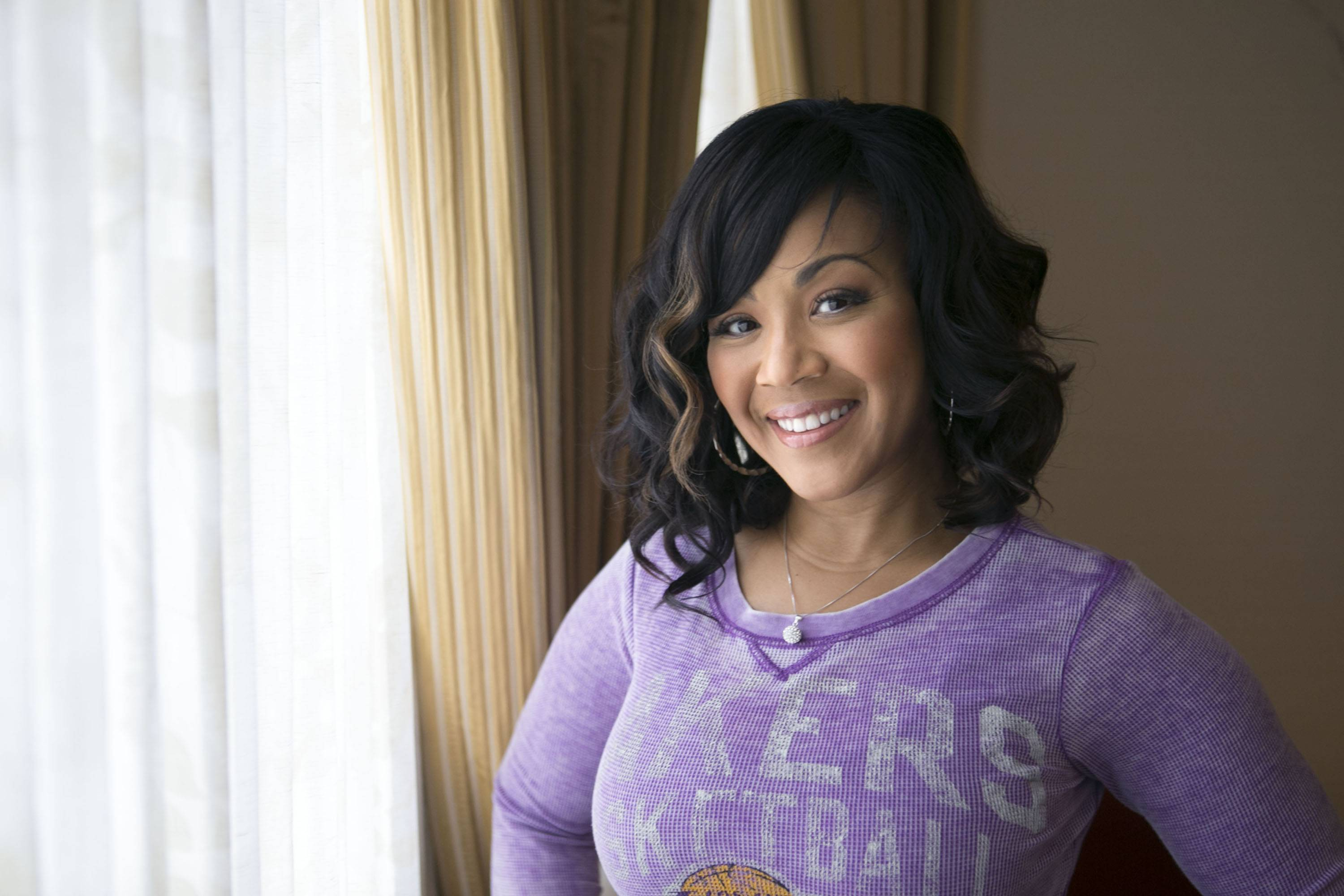 "Singer Erica Campbell, one half of the duo Mary Mary, is promoting her first solo gospel album, ""Help,"" coming out Tuesday, March 25."