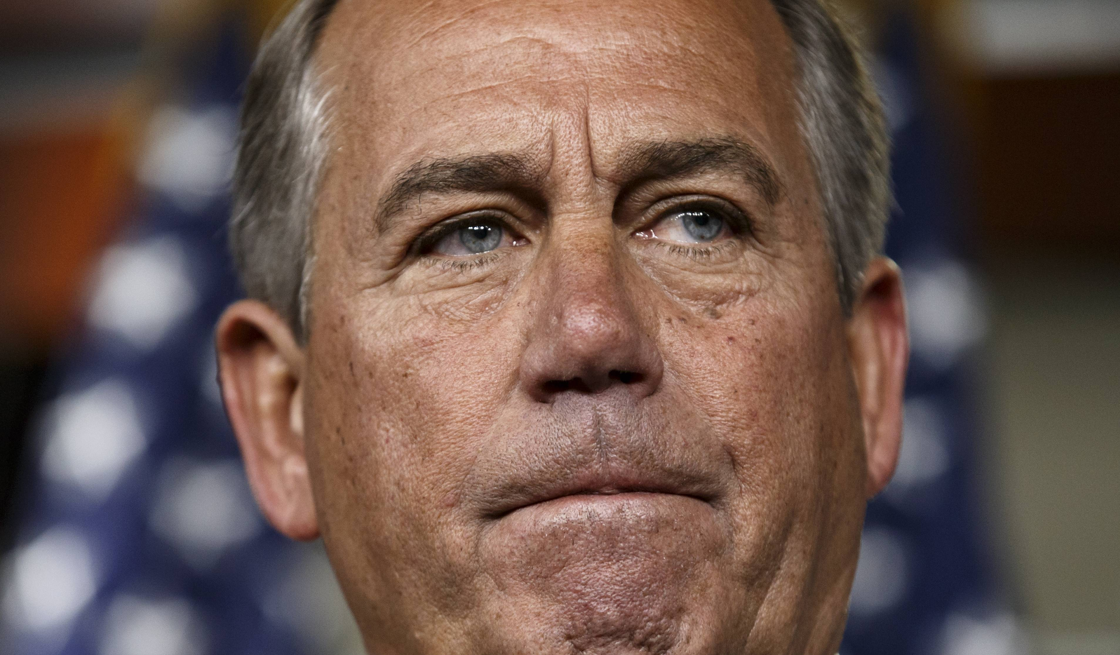 Party leaders, including House Speaker John Boehner, seen here, insist the GOP-controlled House is moving full speed ahead to approve a budget plan, but it has fallen behind schedule amid doubts there will be enough votes to pass it.